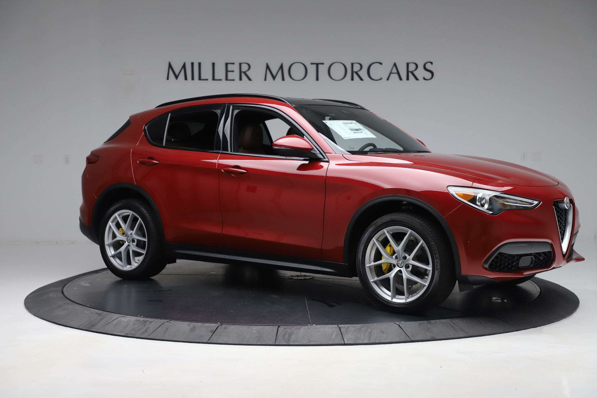 New 2019 Alfa Romeo Stelvio Ti Sport Q4 For Sale In Westport, CT 2744_p10