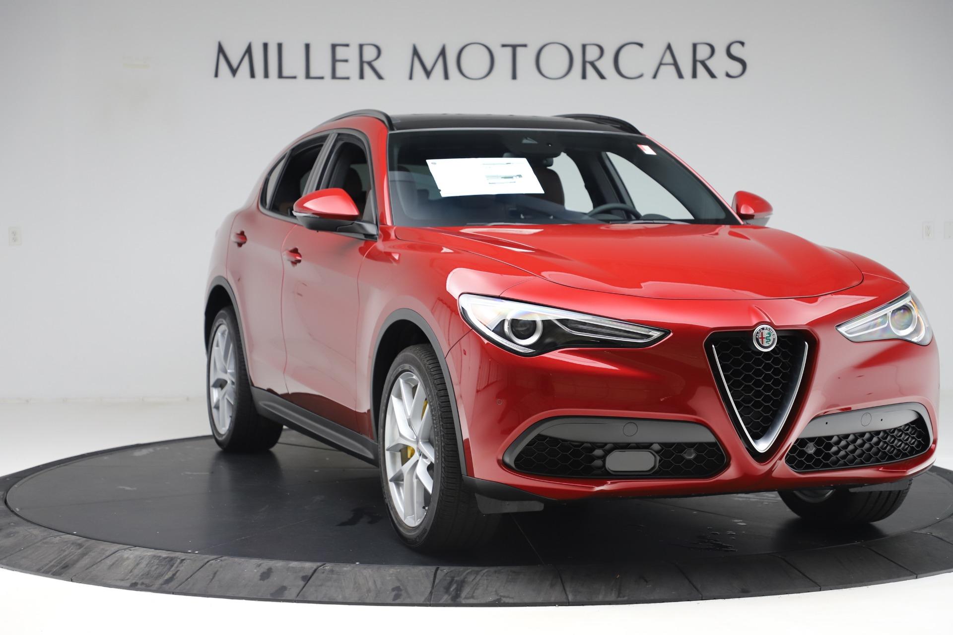 New 2019 Alfa Romeo Stelvio Ti Sport Q4 For Sale In Westport, CT 2744_p11