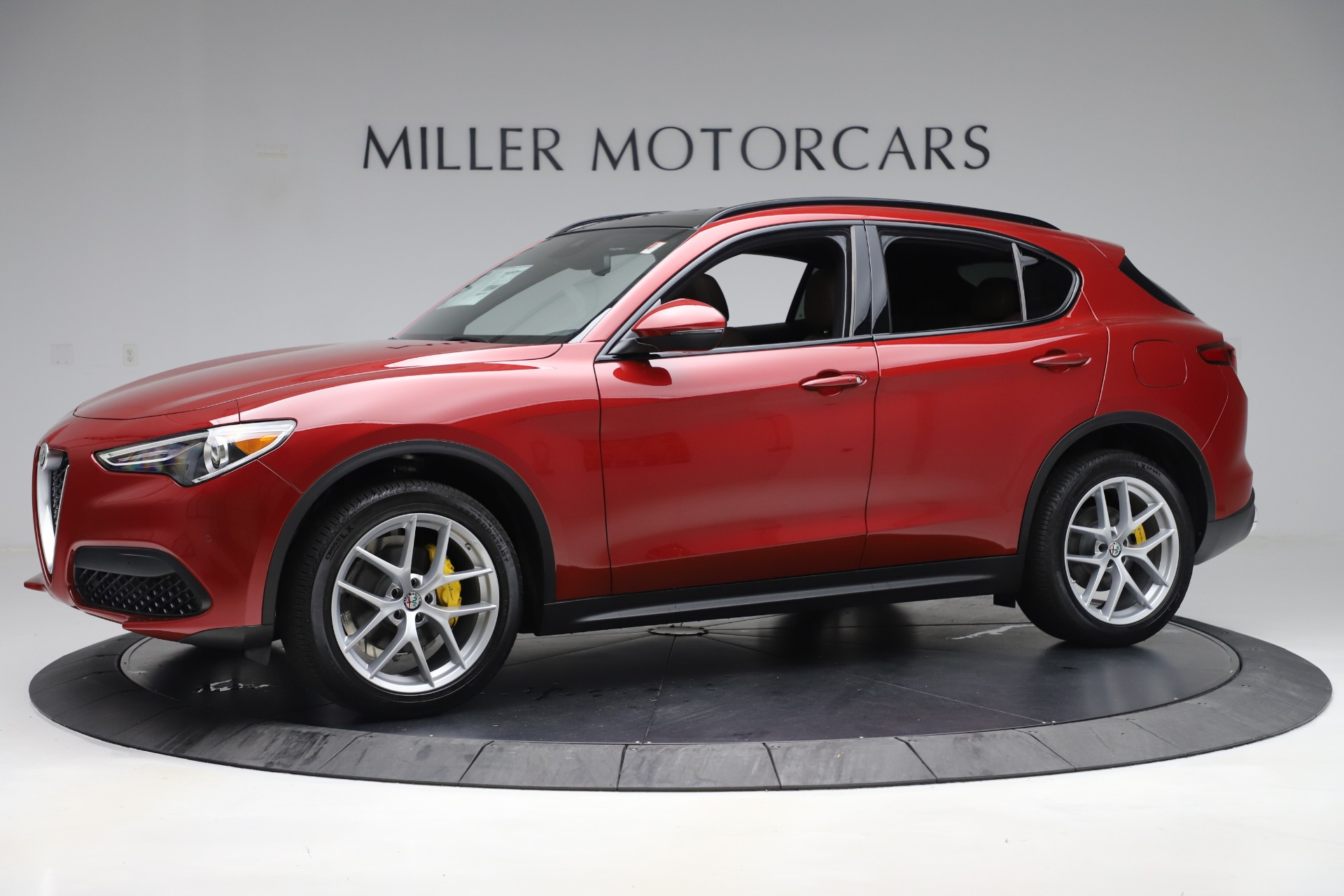 New 2019 Alfa Romeo Stelvio Ti Sport Q4 For Sale In Westport, CT 2744_p2