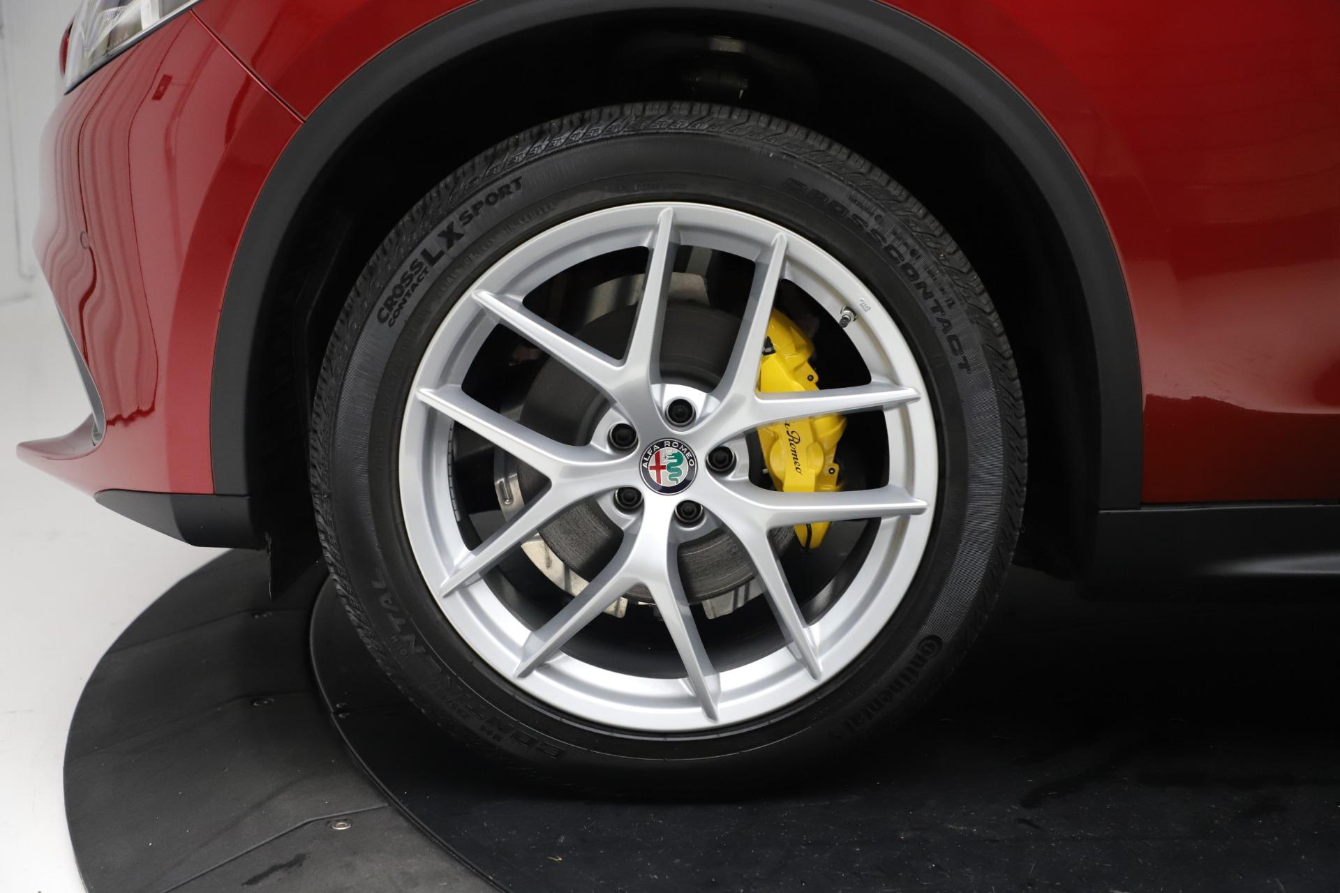 New 2019 Alfa Romeo Stelvio Ti Sport Q4 For Sale In Westport, CT 2744_p30