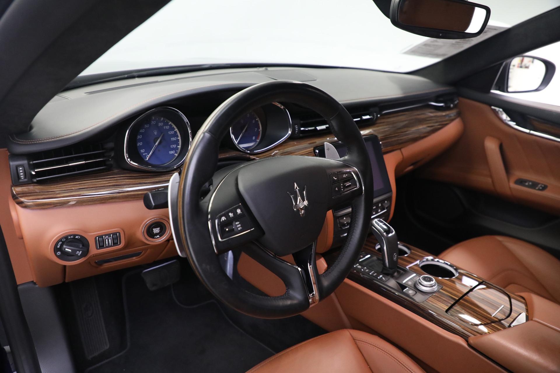 New 2019 Maserati Quattroporte S Q4 GranLusso For Sale In Westport, CT 2746_p14