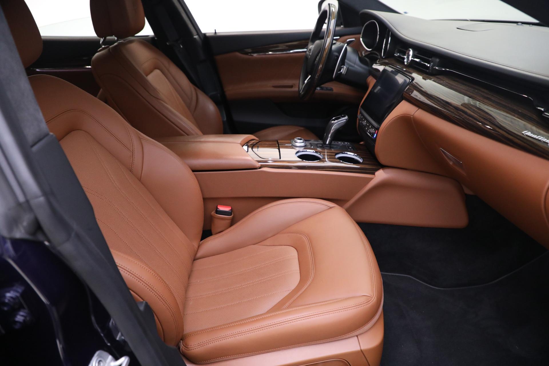 New 2019 Maserati Quattroporte S Q4 GranLusso For Sale In Westport, CT 2746_p21