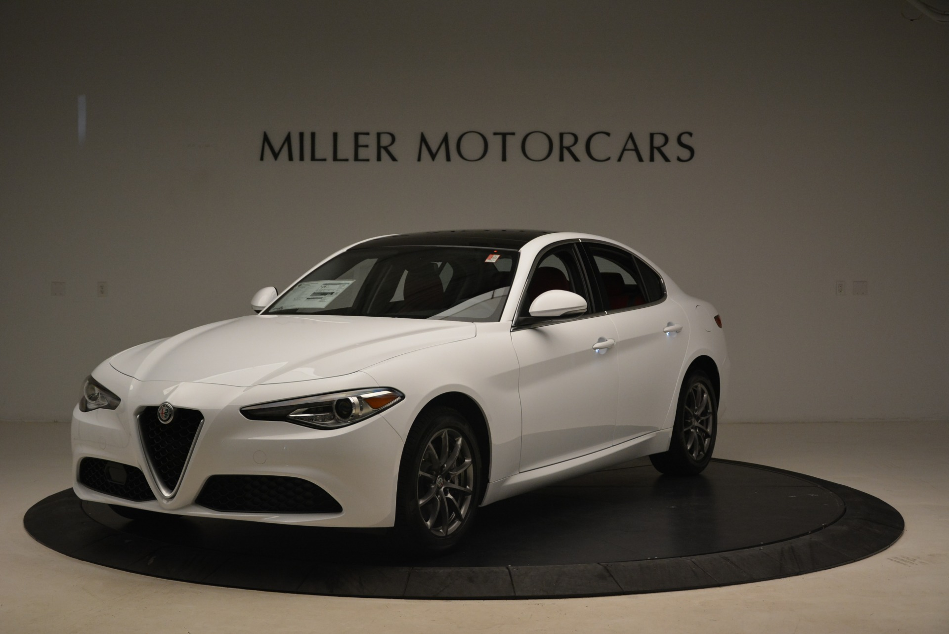 New 2019 Alfa Romeo Giulia Q4 For Sale In Westport, CT 2754_p2