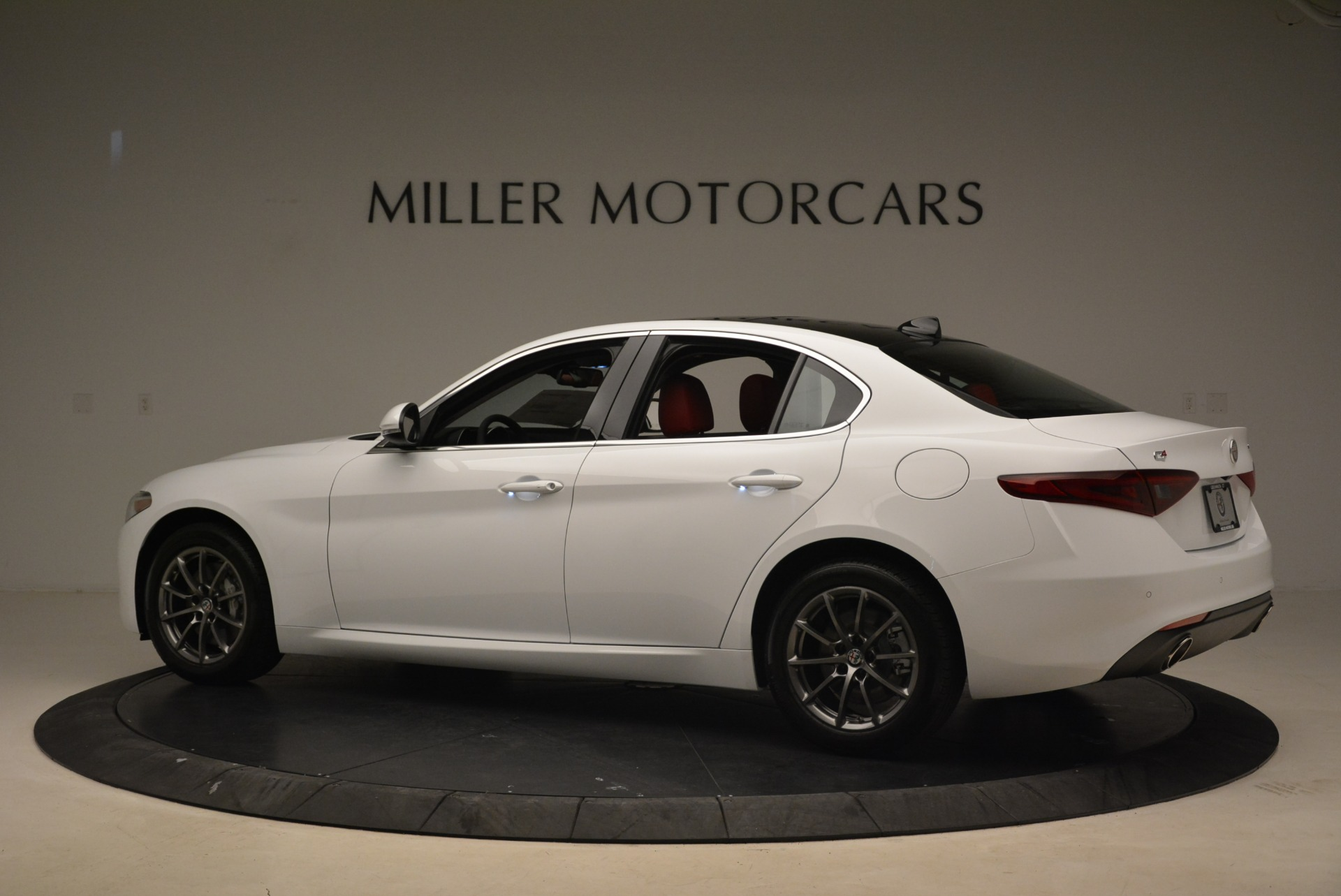 New 2019 Alfa Romeo Giulia Q4 For Sale In Westport, CT 2754_p4