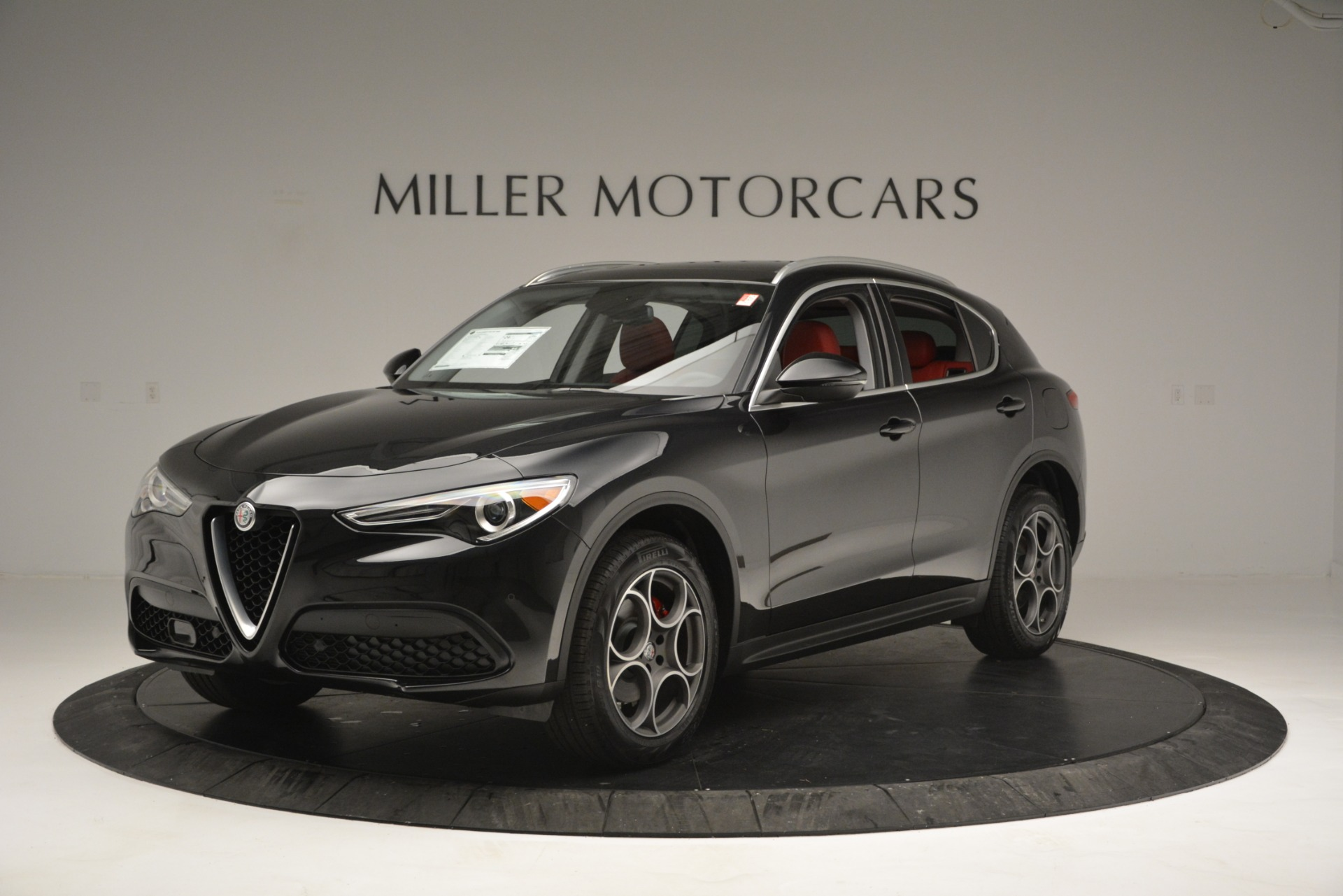 New 2019 Alfa Romeo Stelvio  For Sale In Westport, CT 2764_p2