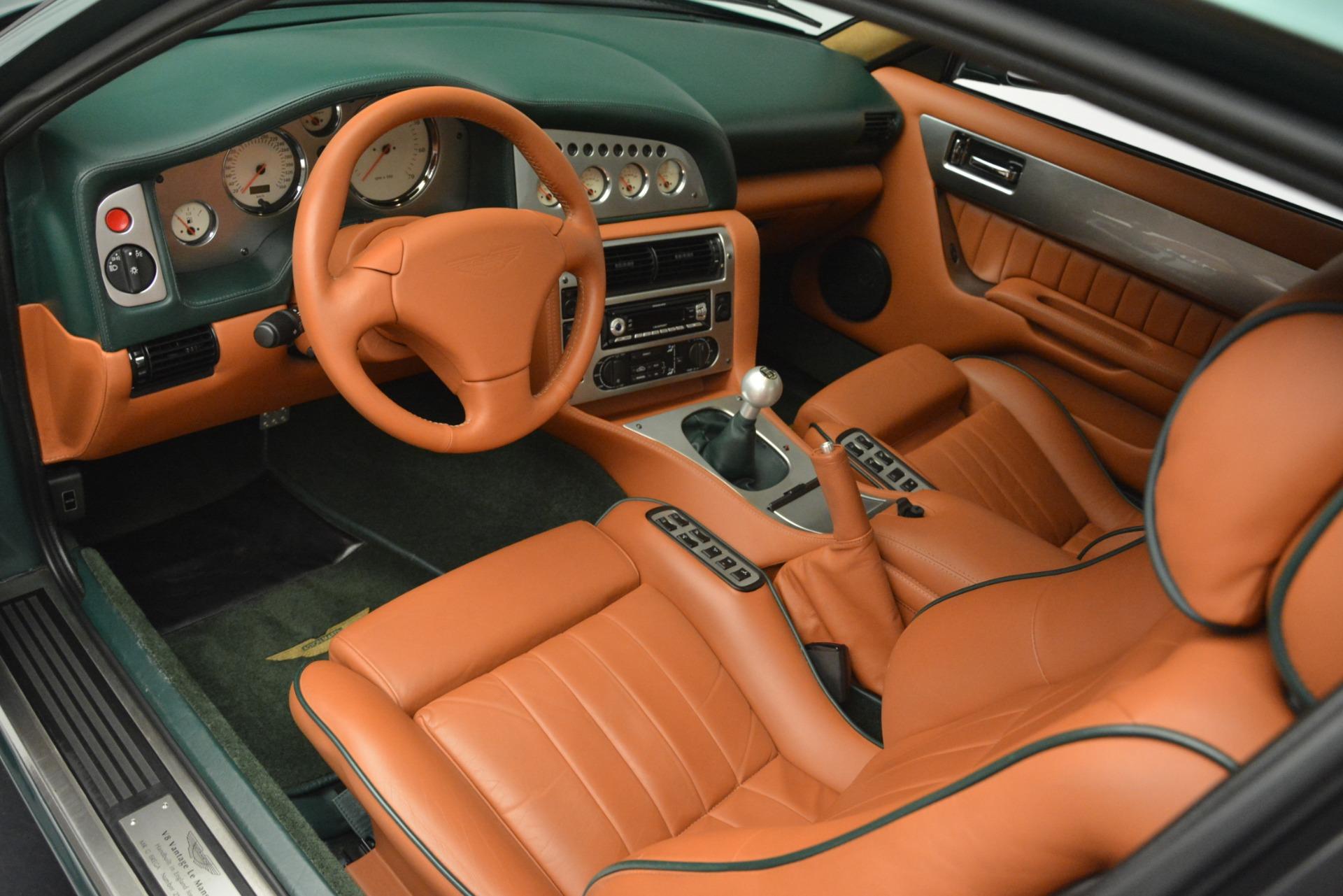 Used 1999 Aston Martin V8 Vantage Le Mans V600 Coupe For Sale In Westport, CT 2789_p15