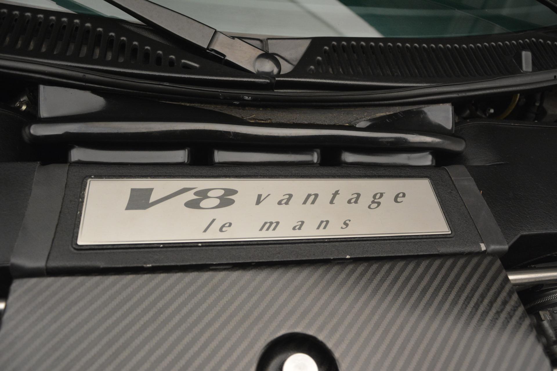 Used 1999 Aston Martin V8 Vantage Le Mans V600 Coupe For Sale In Westport, CT 2789_p33