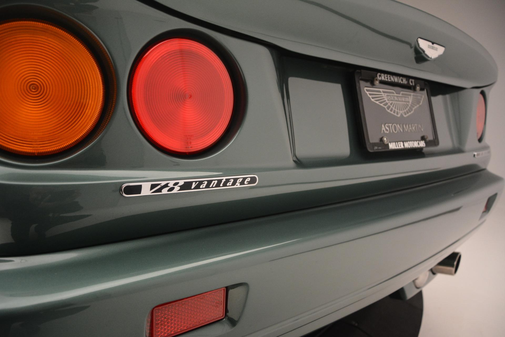 Used 1999 Aston Martin V8 Vantage Le Mans V600 Coupe For Sale In Westport, CT 2789_p40