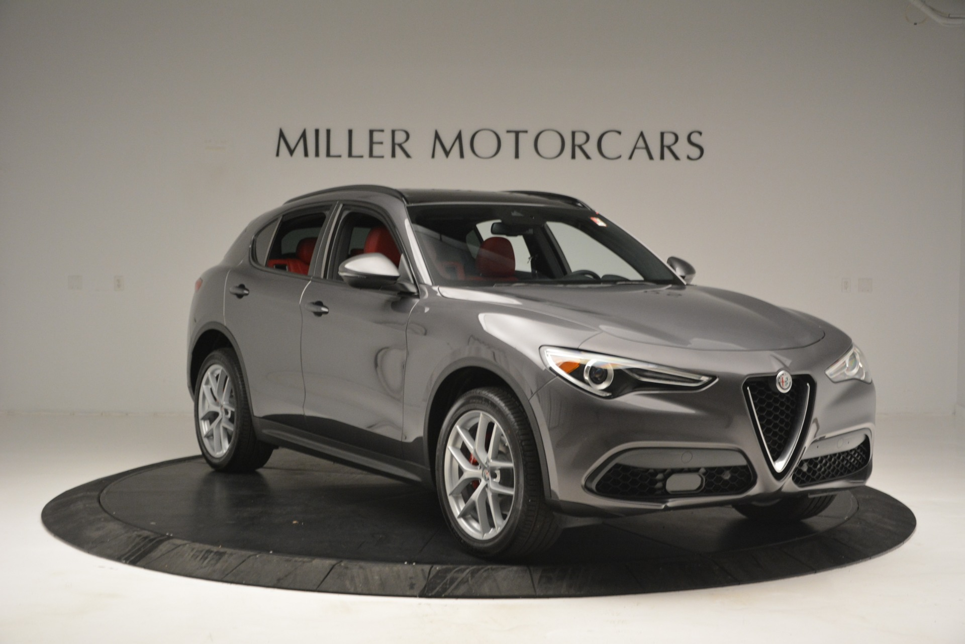 New 2019 Alfa Romeo Stelvio Sport Q4 For Sale In Westport, CT 2809_p11