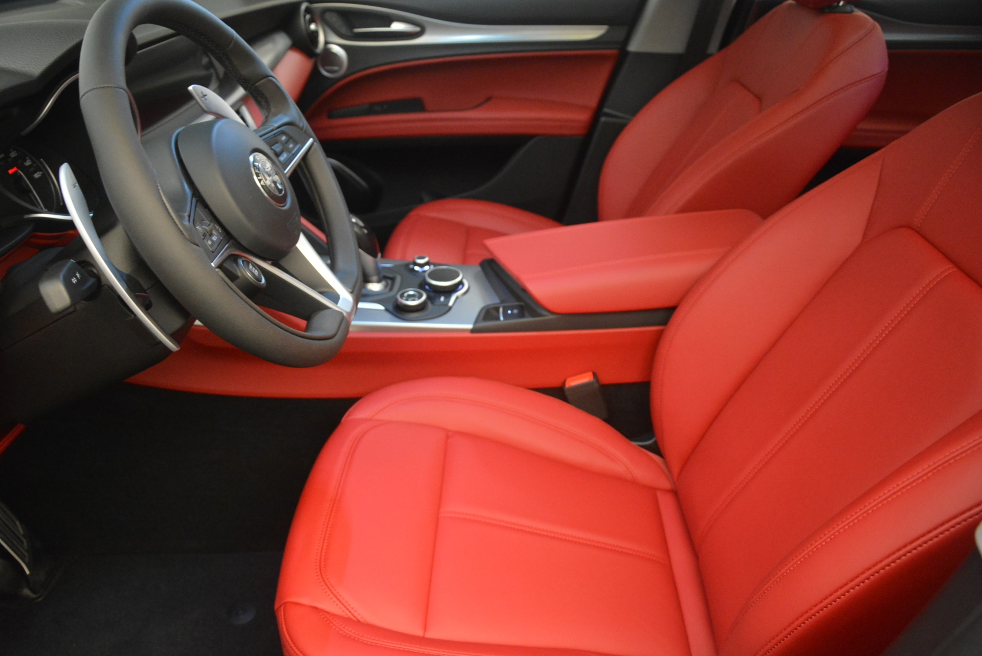 New 2019 Alfa Romeo Stelvio Sport Q4 For Sale In Westport, CT 2809_p14
