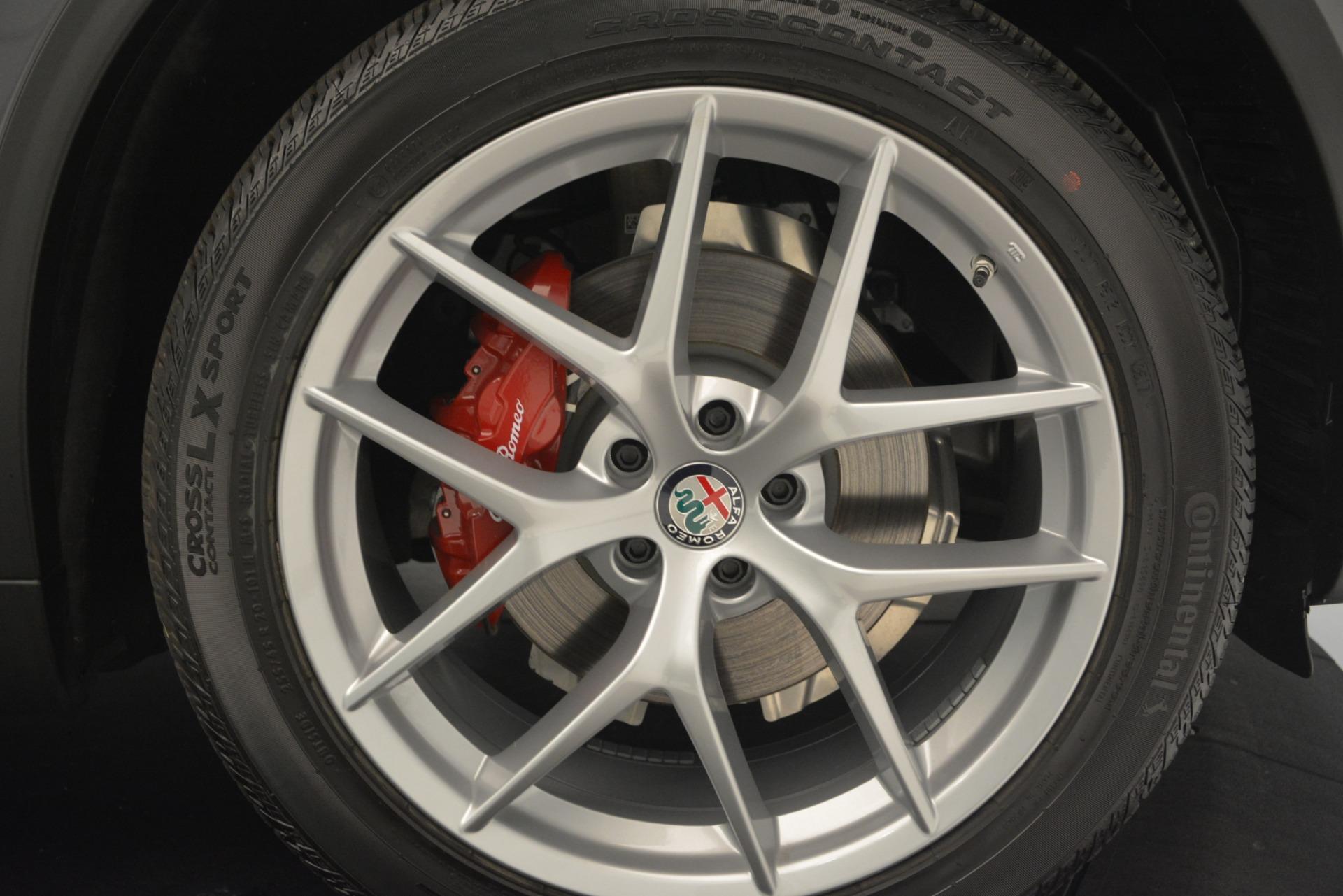 New 2019 Alfa Romeo Stelvio Sport Q4 For Sale In Westport, CT 2809_p25