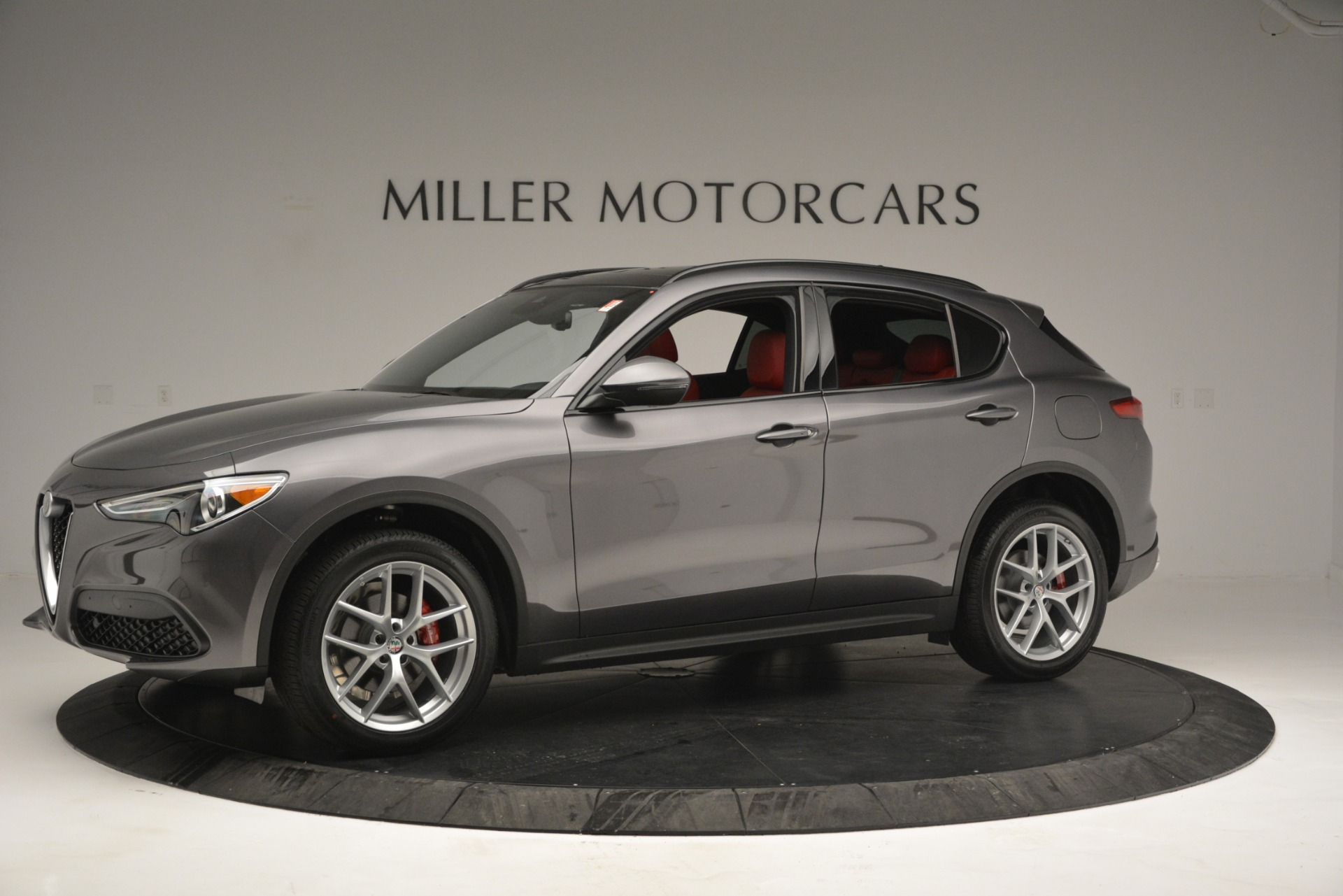 New 2019 Alfa Romeo Stelvio Sport Q4 For Sale In Westport, CT 2809_p2