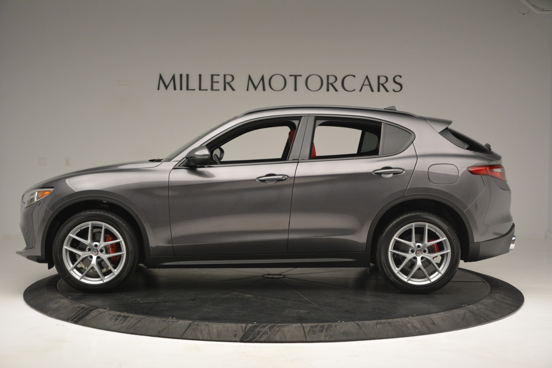 New 2019 Alfa Romeo Stelvio Sport Q4 For Sale In Westport, CT 2809_p3