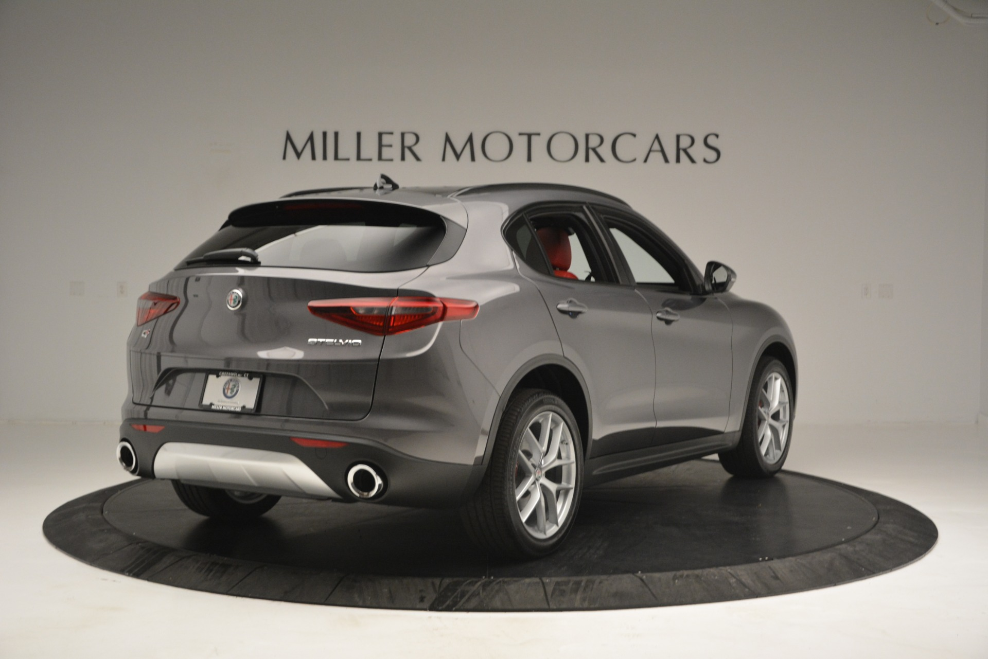 New 2019 Alfa Romeo Stelvio Sport Q4 For Sale In Westport, CT 2809_p7