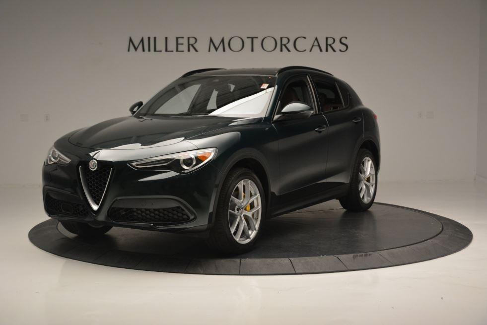 New 2019 Alfa Romeo Stelvio Sport Q4 For Sale In Westport, CT 2811_p2