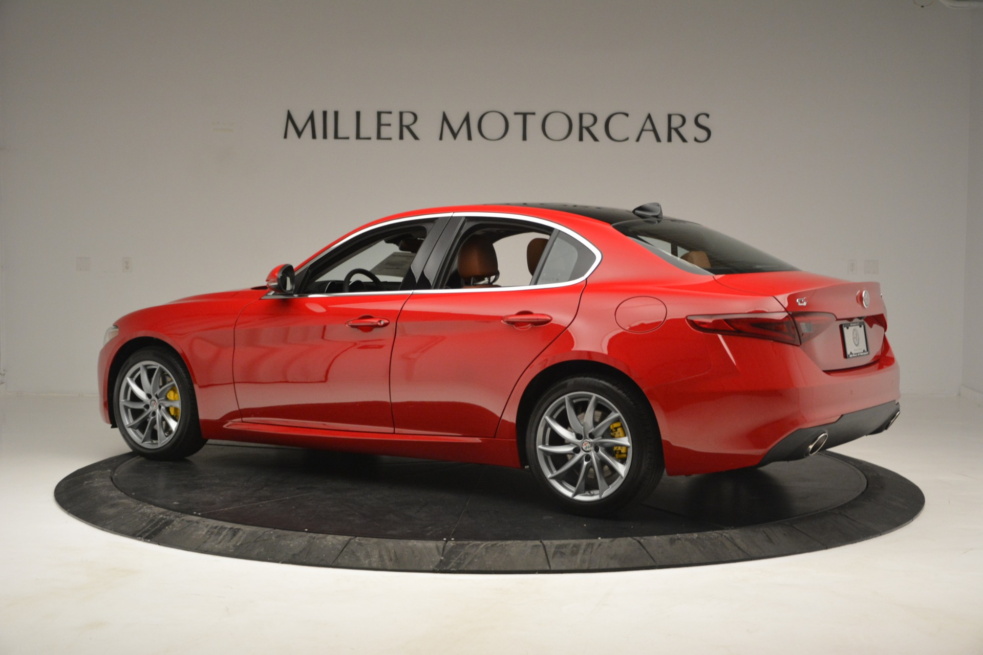 New 2019 Alfa Romeo Giulia Q4 For Sale In Westport, CT 2821_p4