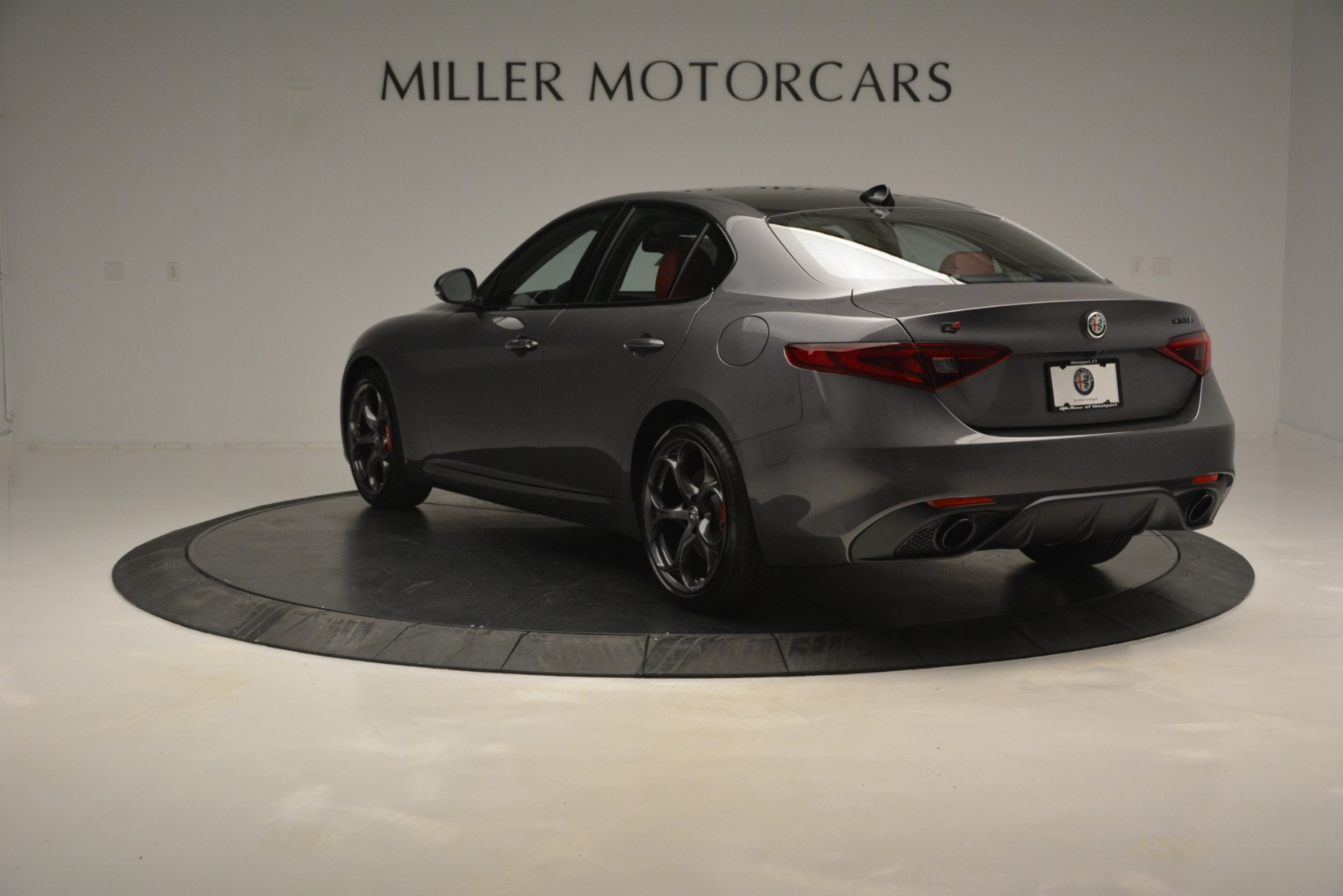 New 2019 Alfa Romeo Giulia Ti Sport Q4 For Sale In Westport, CT 2824_p5