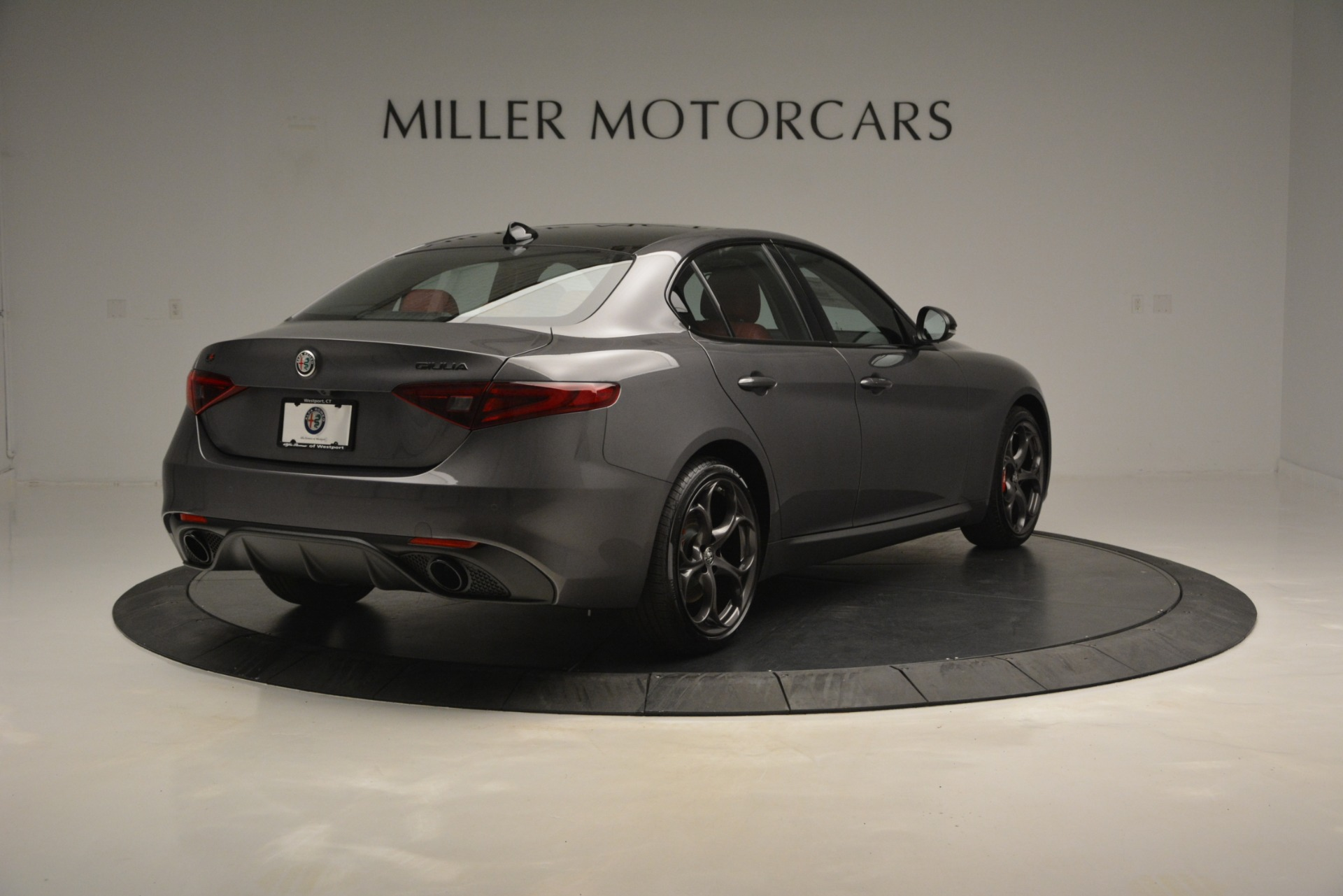 New 2019 Alfa Romeo Giulia Ti Sport Q4 For Sale In Westport, CT 2824_p7