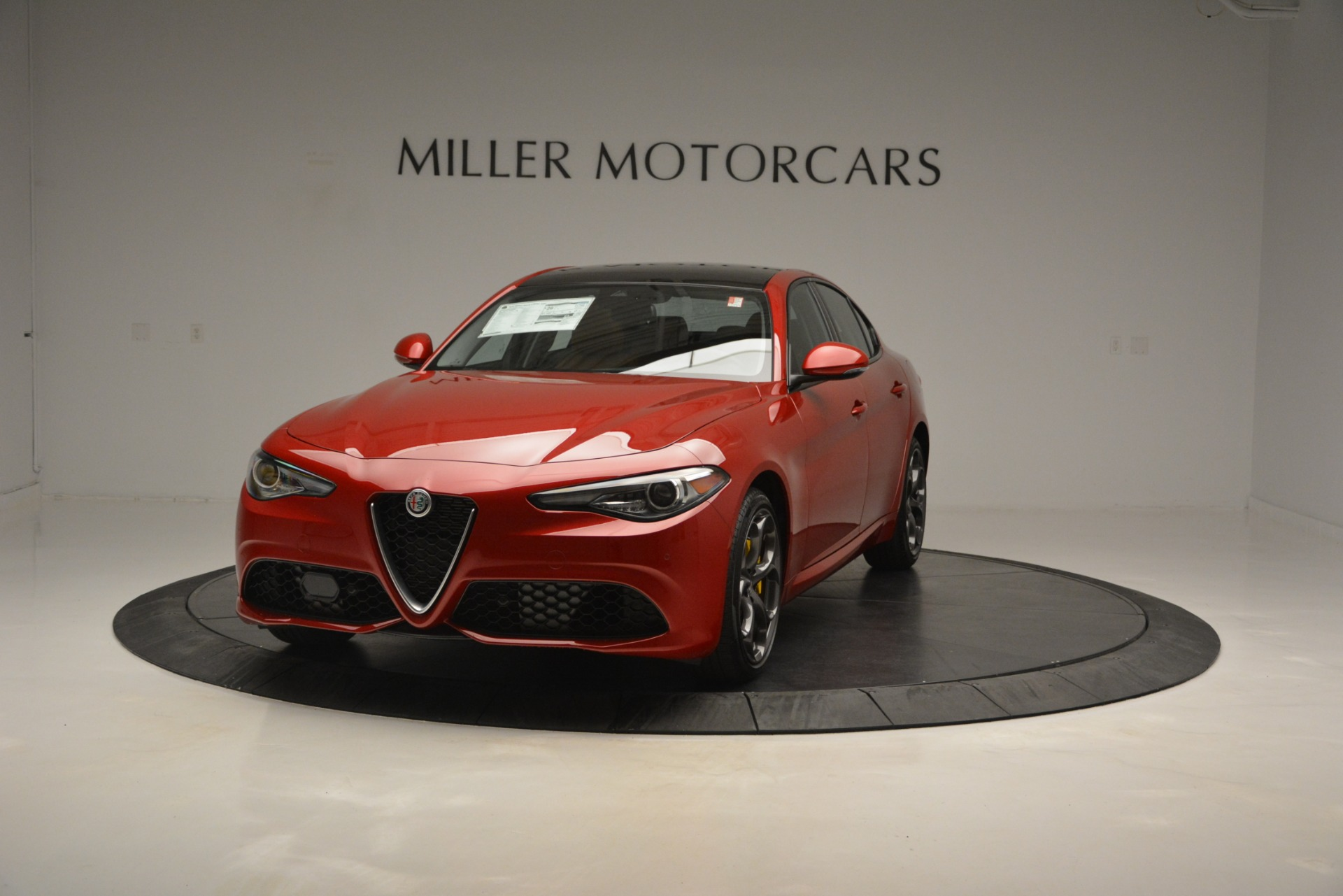 New 2019 Alfa Romeo Giulia Ti Sport Q4 For Sale In Westport, CT 2833_main