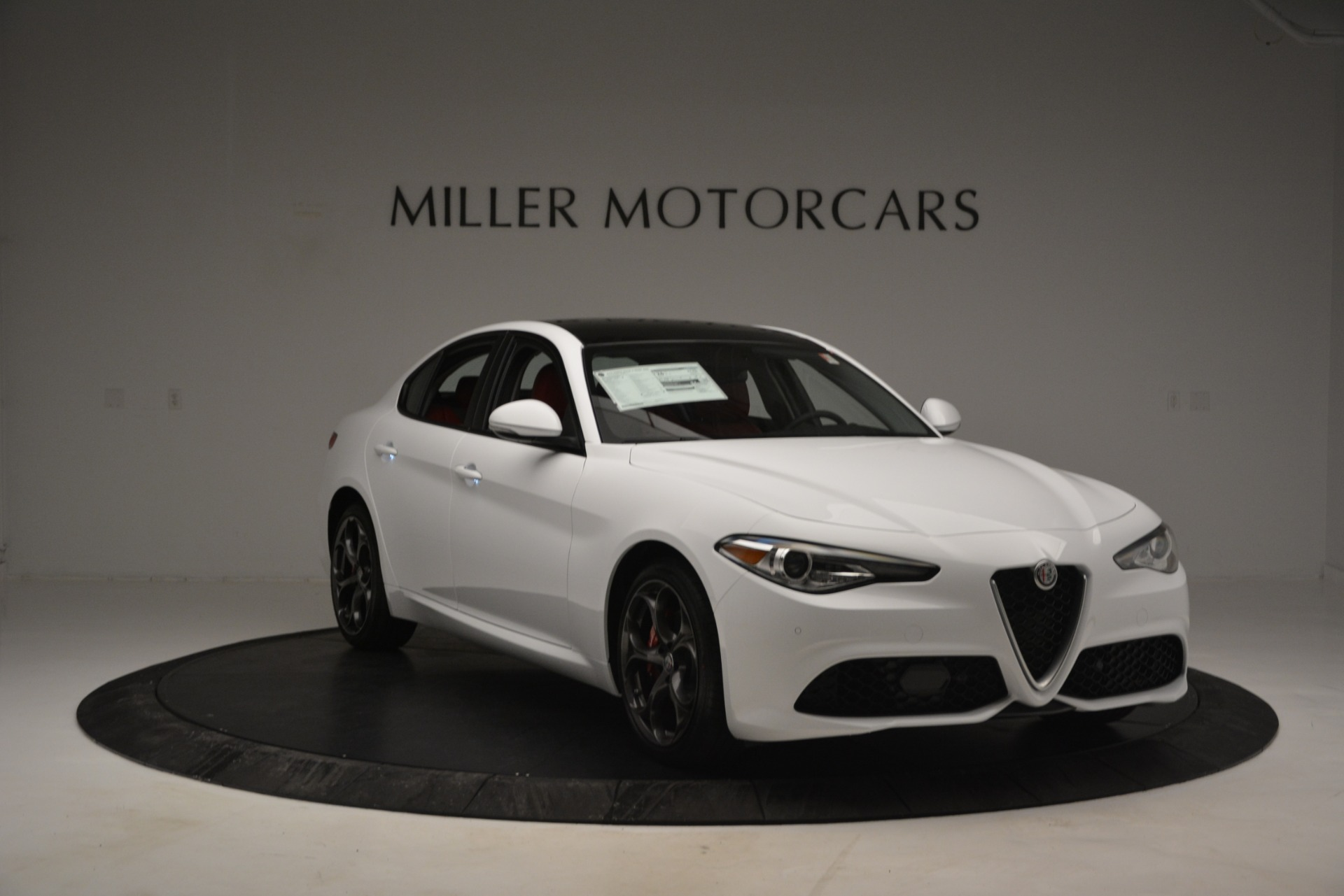 New 2019 Alfa Romeo Giulia Ti Sport Q4 For Sale In Westport, CT 2834_p11