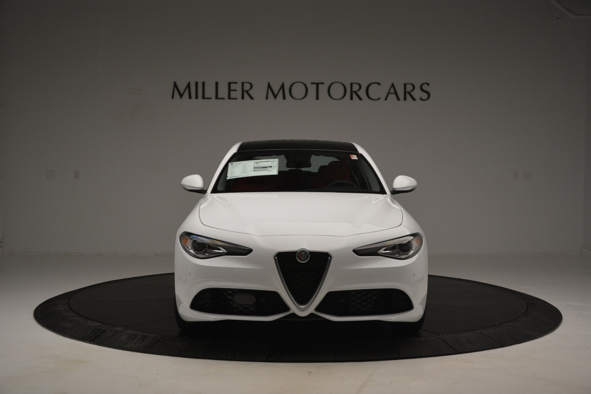 New 2019 Alfa Romeo Giulia Ti Sport Q4 For Sale In Westport, CT 2834_p12