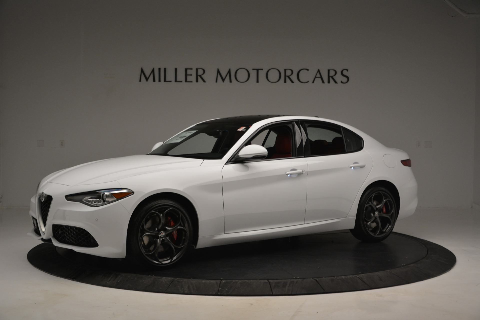 New 2019 Alfa Romeo Giulia Ti Sport Q4 For Sale In Westport, CT 2834_p2
