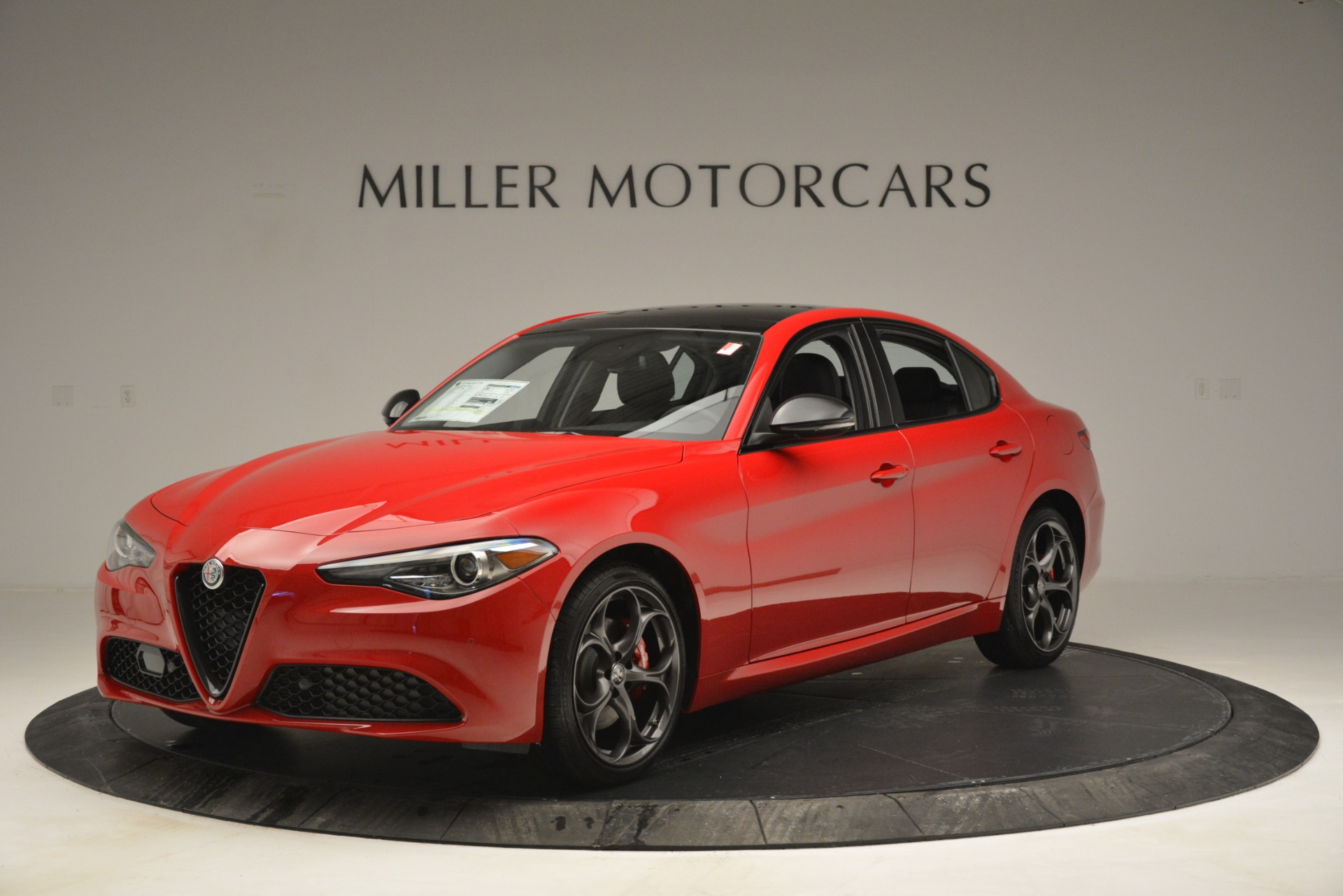 New 2019 Alfa Romeo Giulia Ti Q4 For Sale In Westport, CT 2853_main