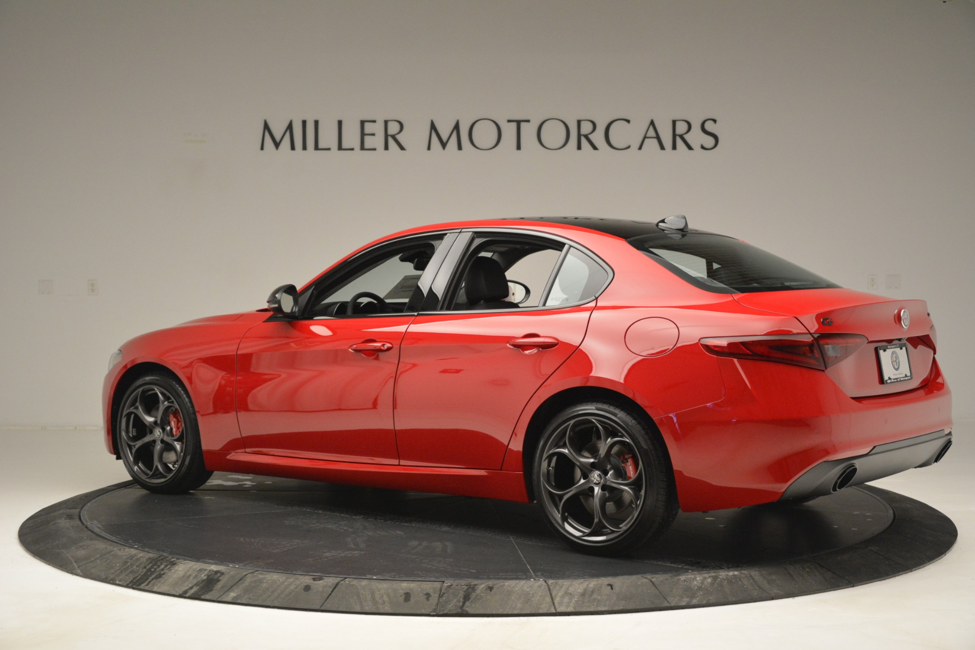 New 2019 Alfa Romeo Giulia Ti Q4 For Sale In Westport, CT 2853_p4