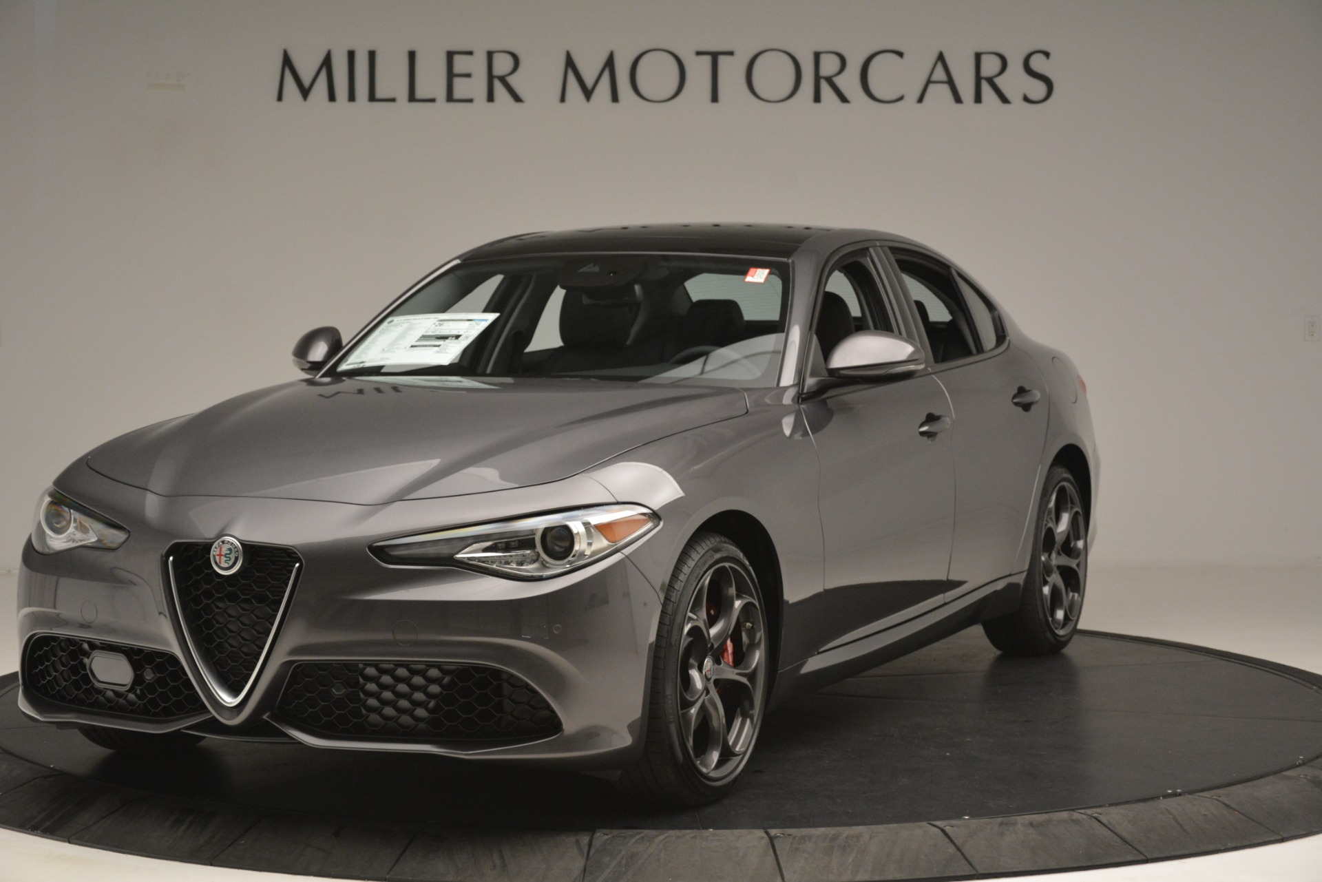 New 2019 Alfa Romeo Giulia Ti Sport Q4 For Sale In Westport, CT 2857_main