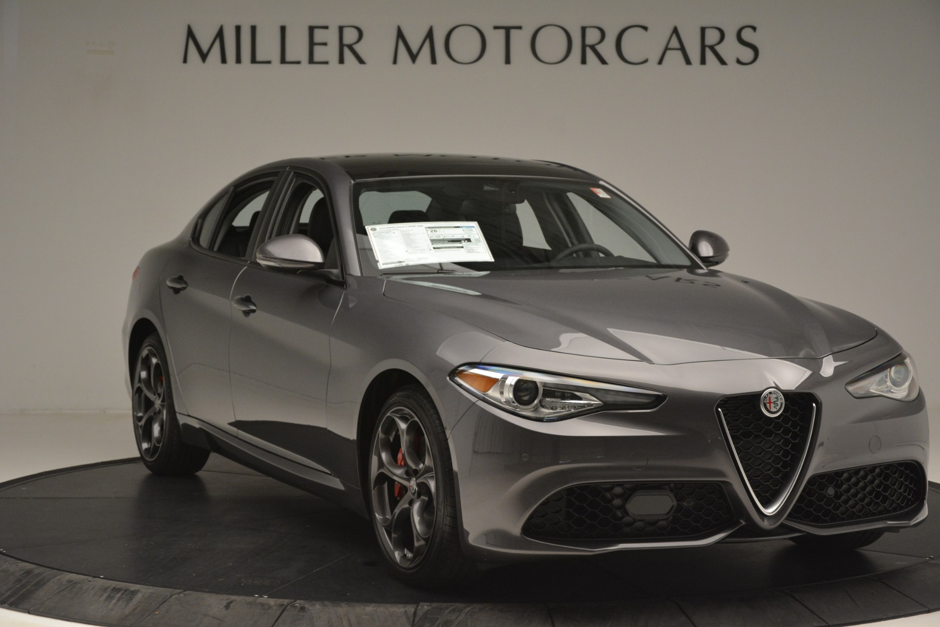 New 2019 Alfa Romeo Giulia Ti Sport Q4 For Sale In Westport, CT 2857_p11