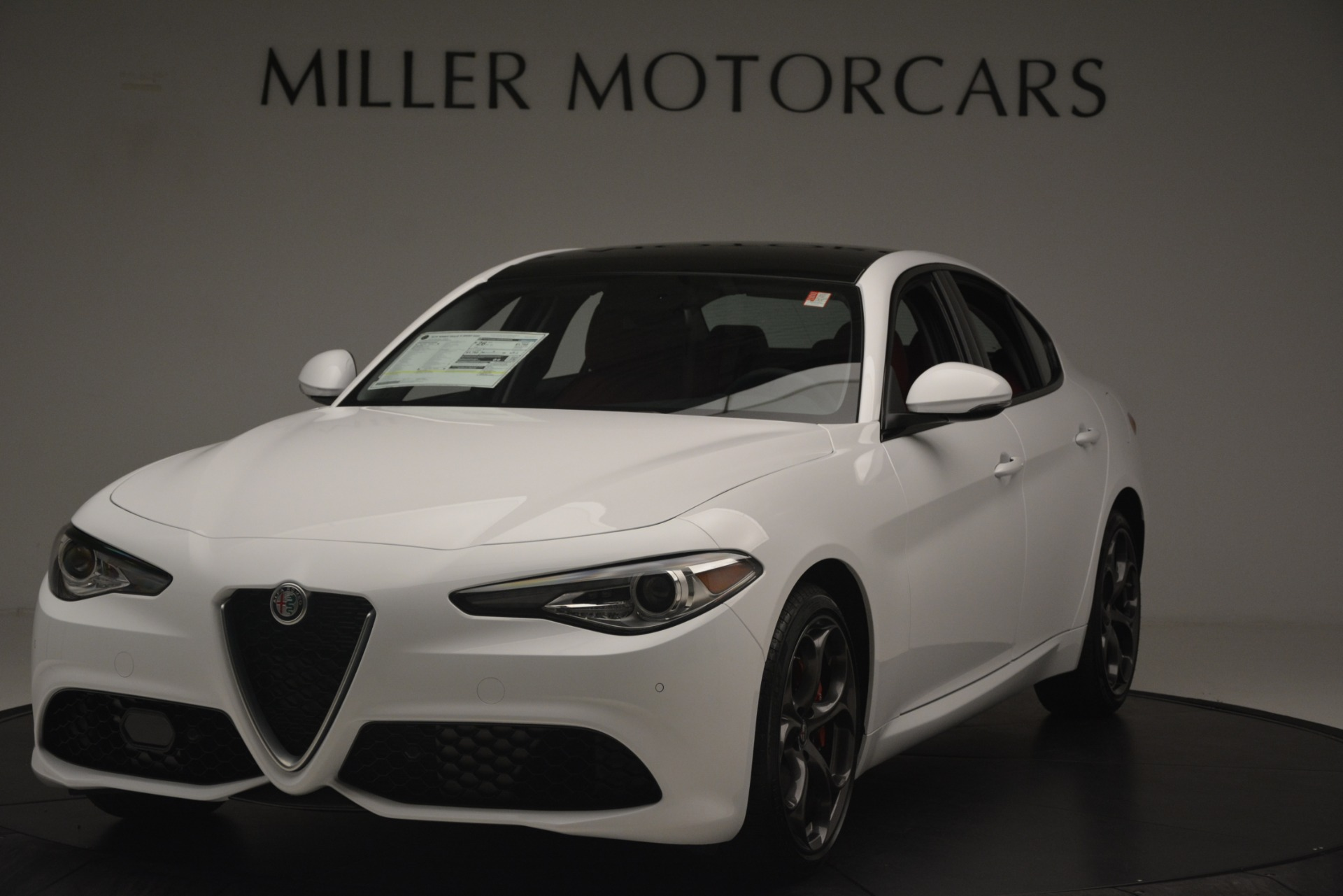 New 2019 Alfa Romeo Giulia Ti Sport Q4 For Sale In Westport, CT 2859_main