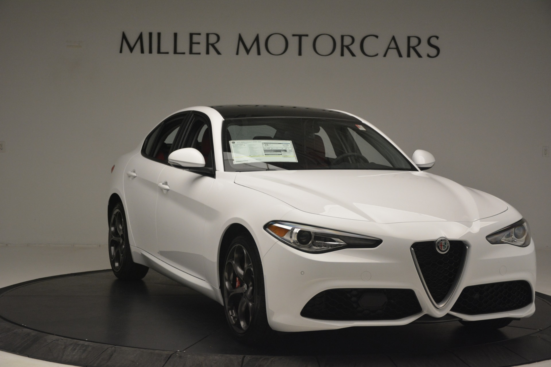 New 2019 Alfa Romeo Giulia Ti Sport Q4 For Sale In Westport, CT 2859_p11