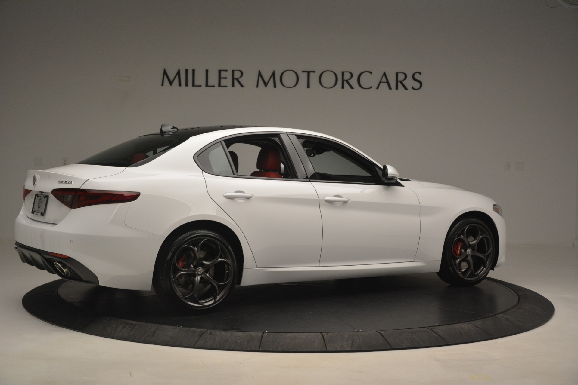 New 2019 Alfa Romeo Giulia Ti Sport Q4 For Sale In Westport, CT 2859_p8