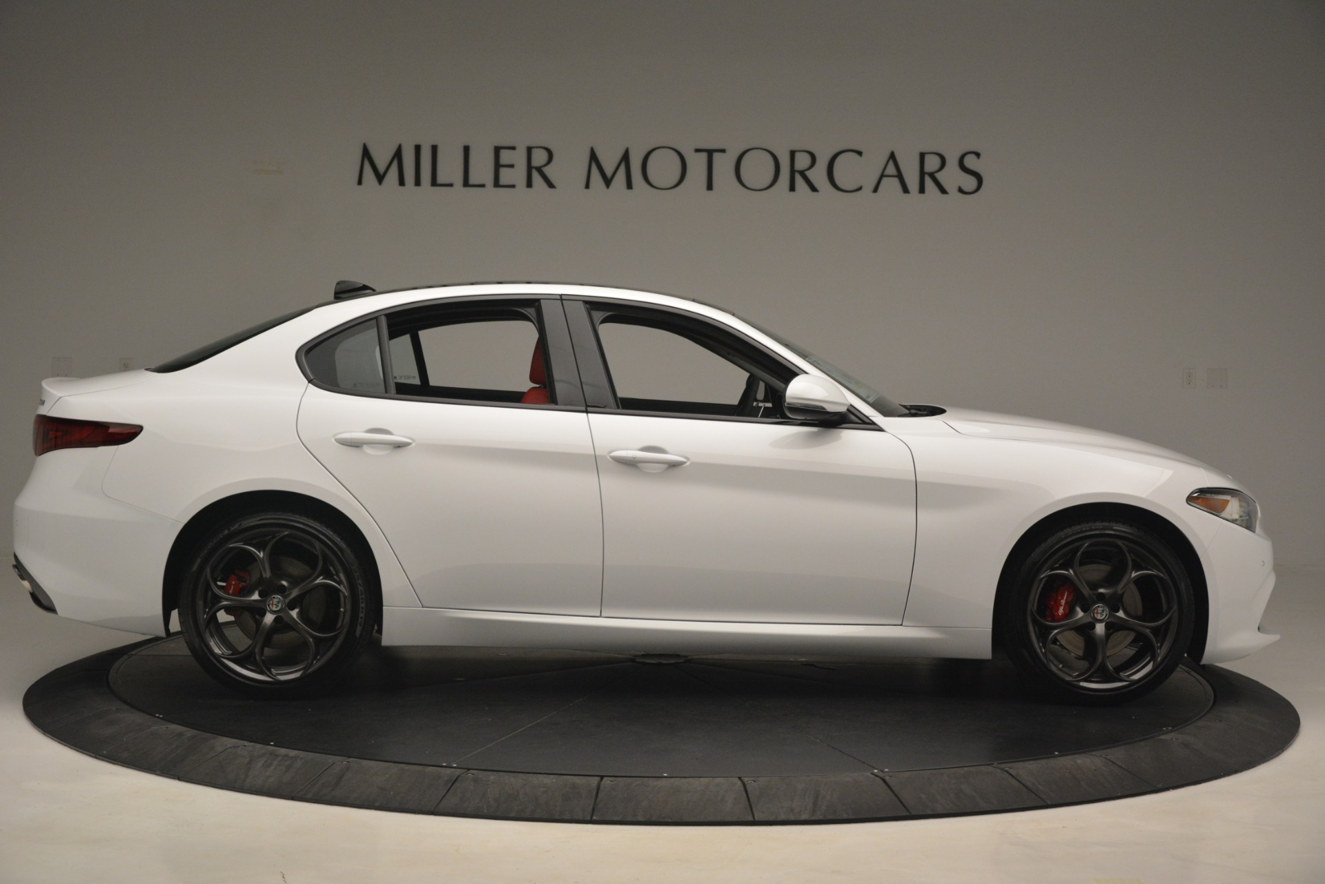 New 2019 Alfa Romeo Giulia Ti Sport Q4 For Sale In Westport, CT 2859_p9