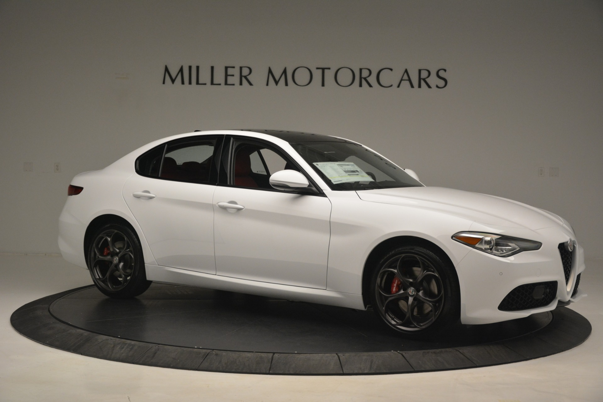 New 2019 Alfa Romeo Giulia Ti Sport Q4 For Sale In Westport, CT 2861_p10