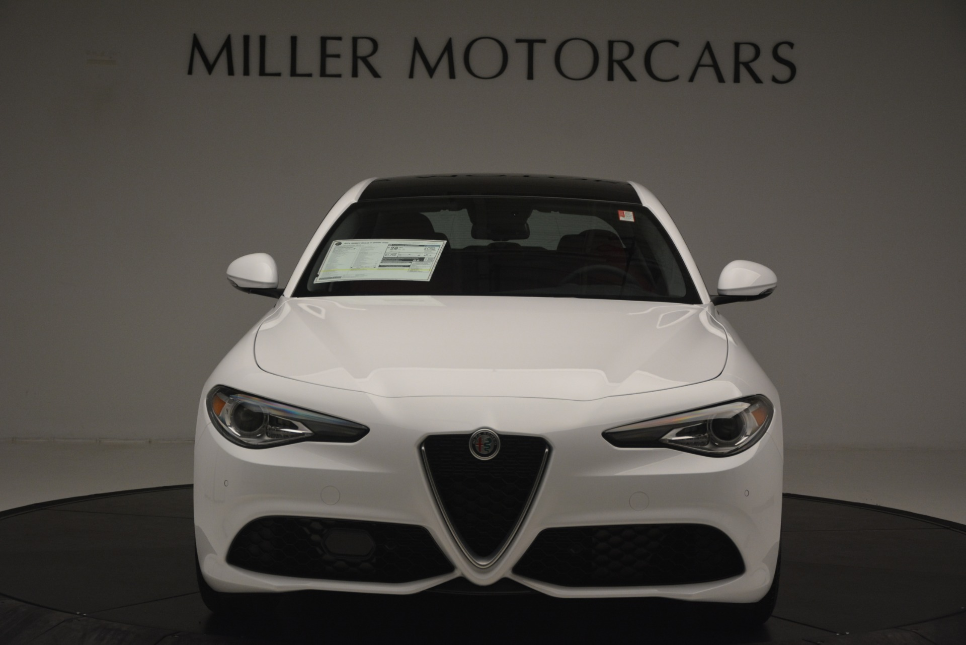 New 2019 Alfa Romeo Giulia Ti Sport Q4 For Sale In Westport, CT 2861_p12