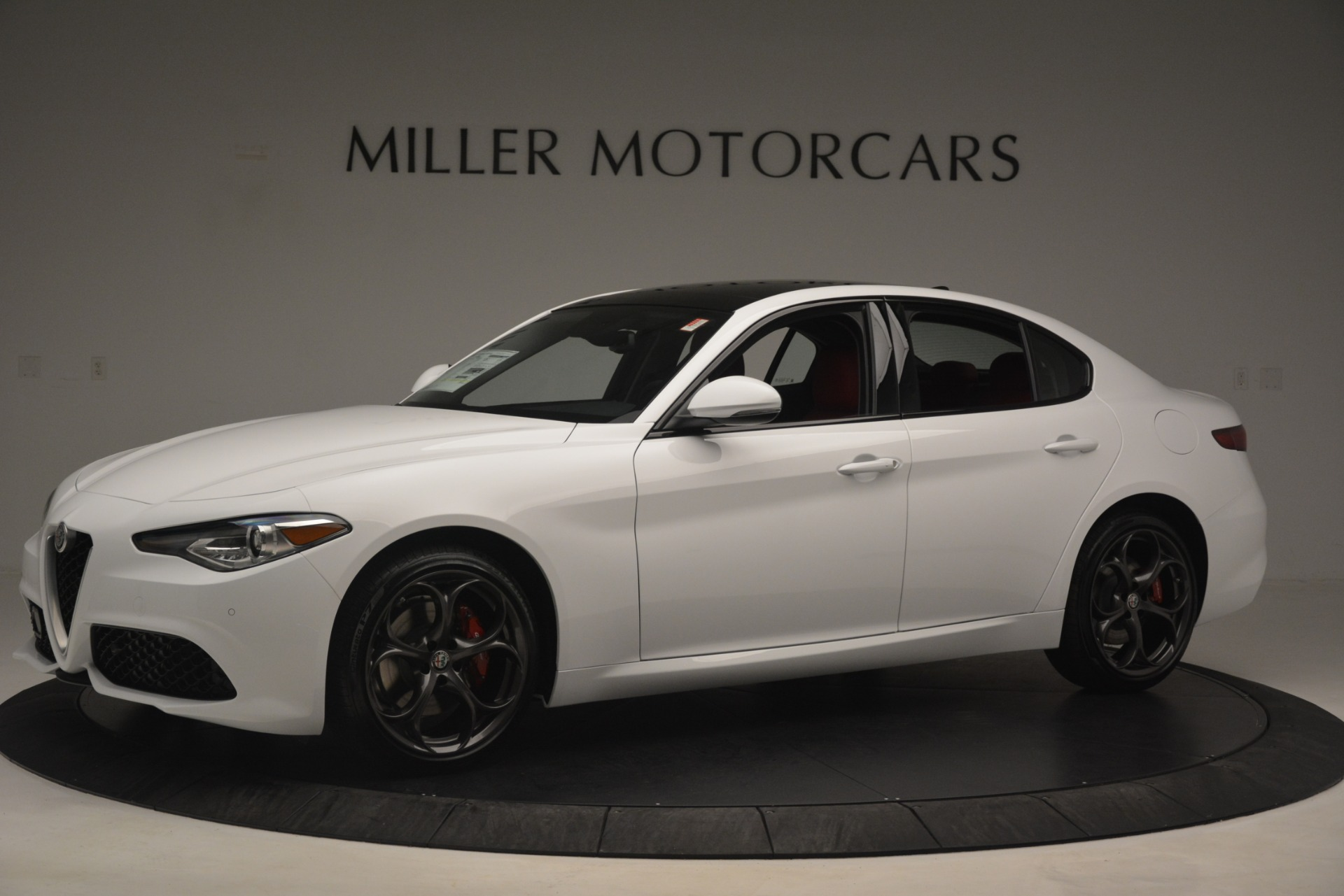 New 2019 Alfa Romeo Giulia Ti Sport Q4 For Sale In Westport, CT 2861_p2