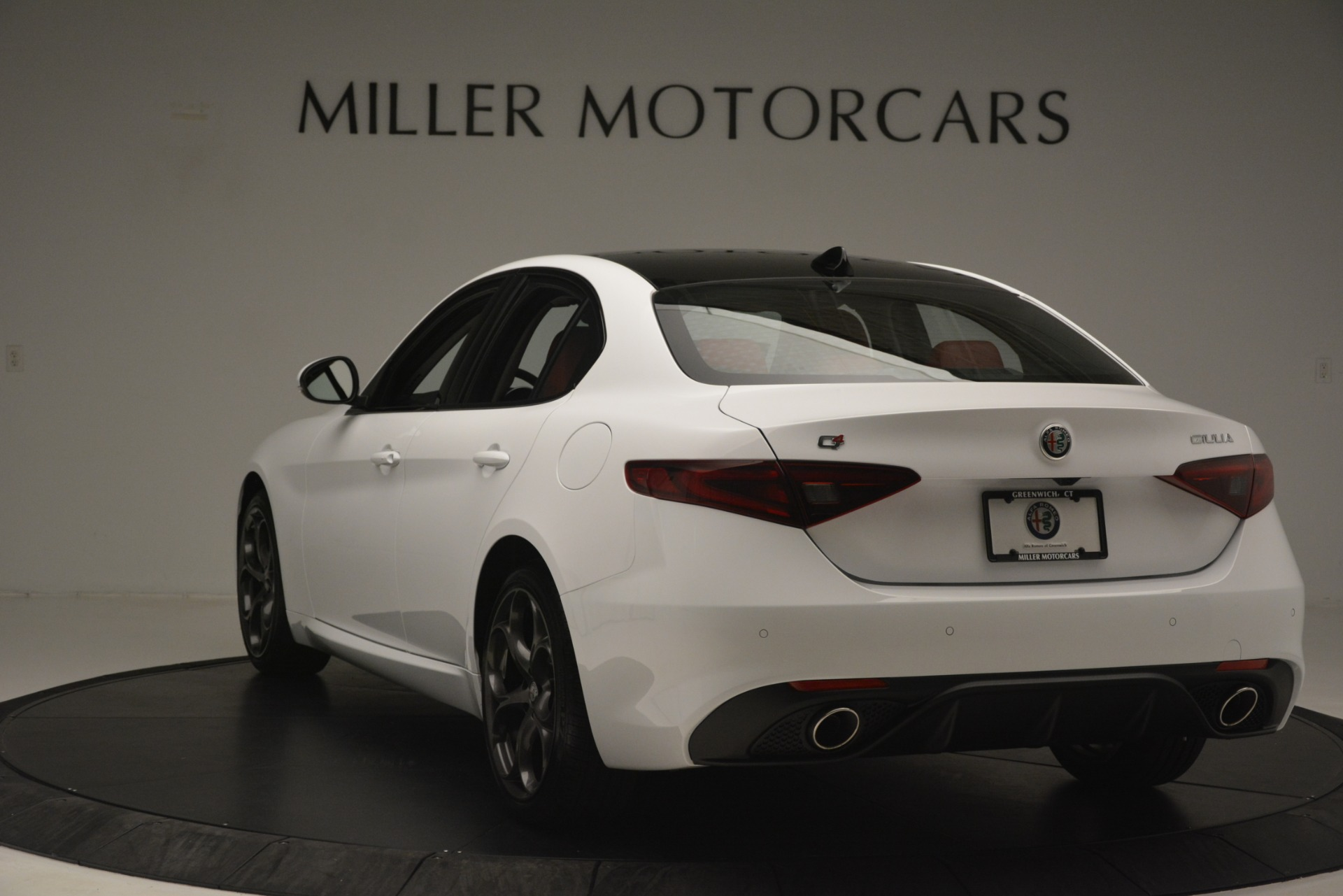 New 2019 Alfa Romeo Giulia Ti Sport Q4 For Sale In Westport, CT 2861_p5