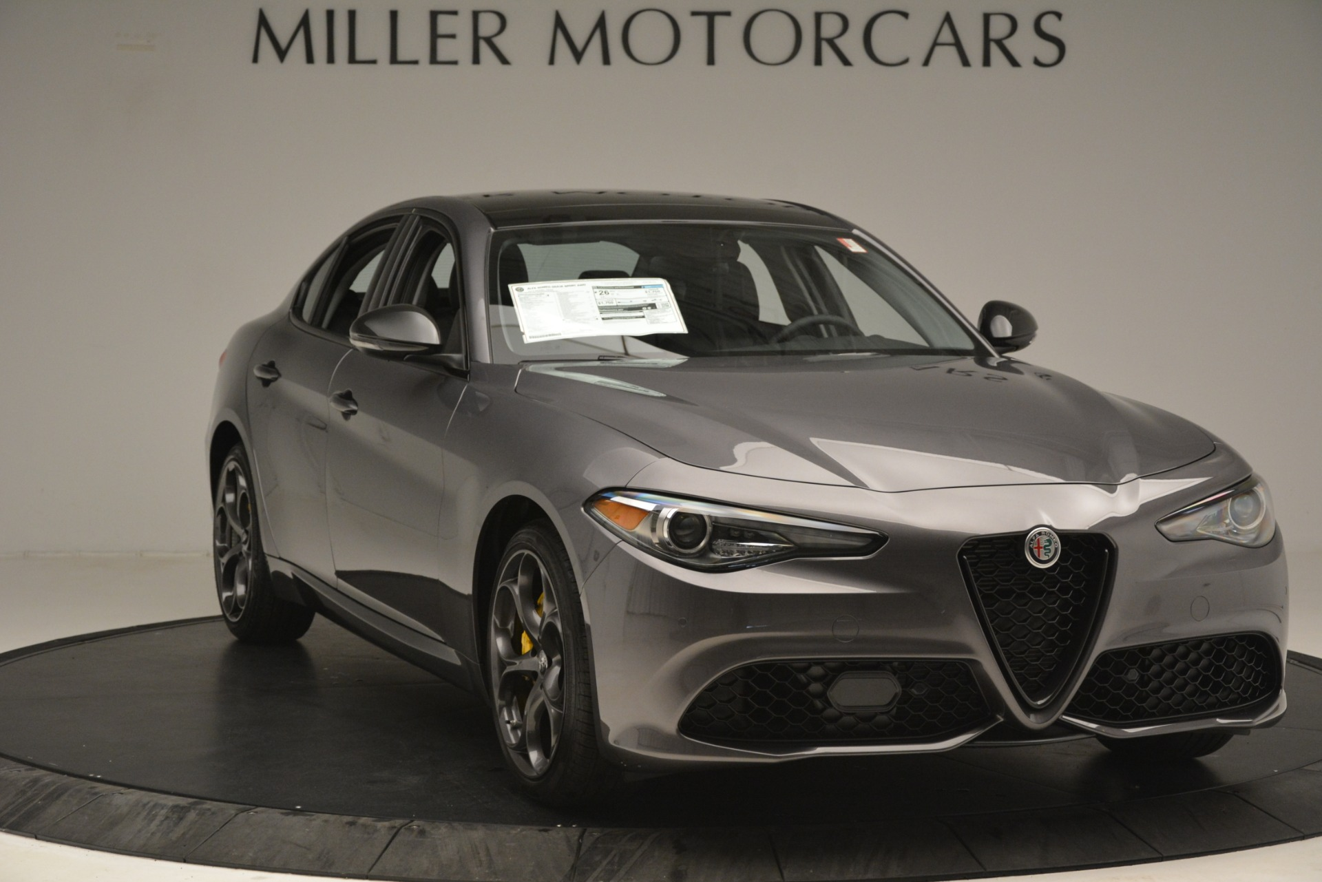 New 2019 Alfa Romeo Giulia Sport Q4 For Sale In Westport, CT 2893_p11