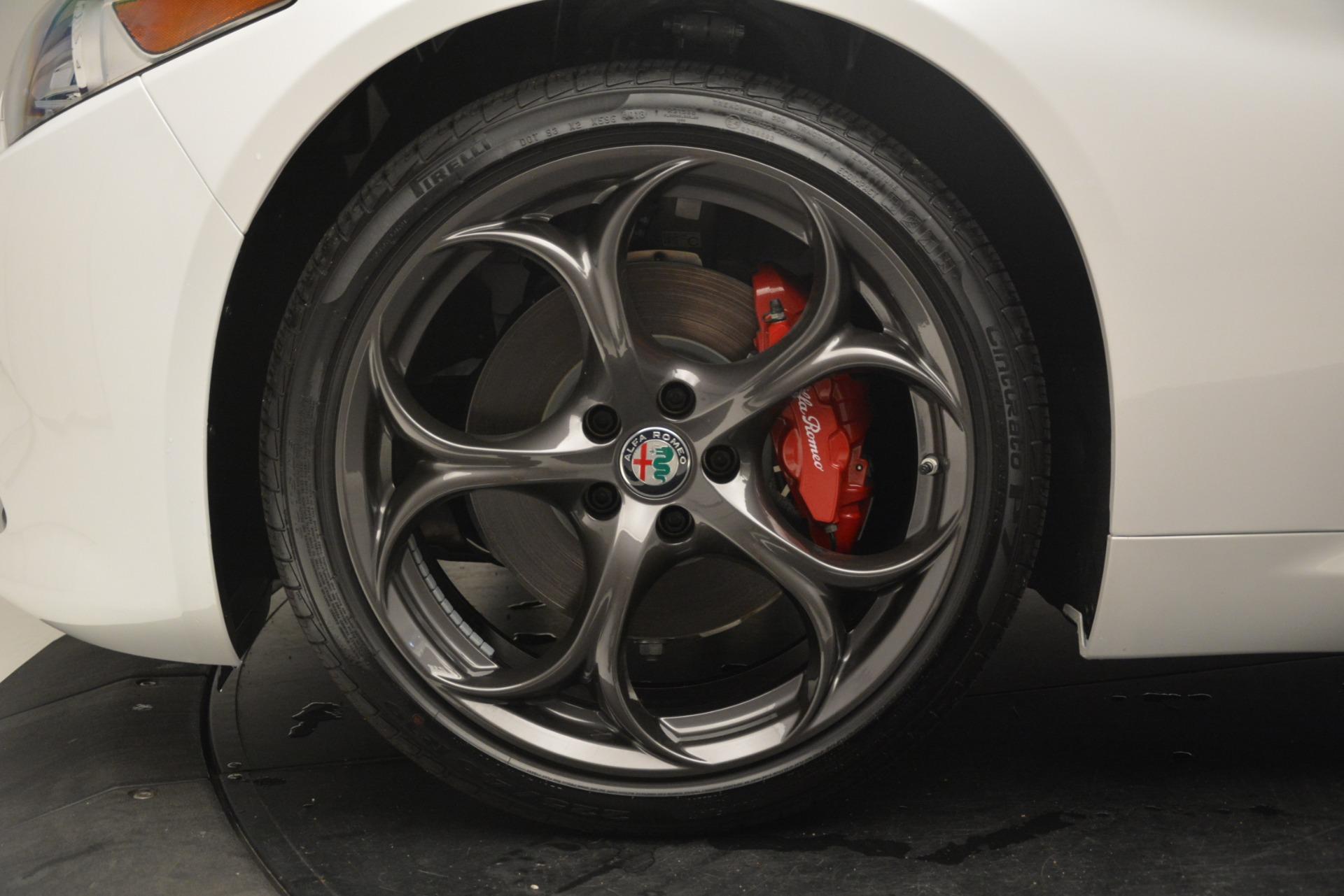 New 2019 Alfa Romeo Giulia Ti Sport Q4 For Sale In Westport, CT 2896_p30