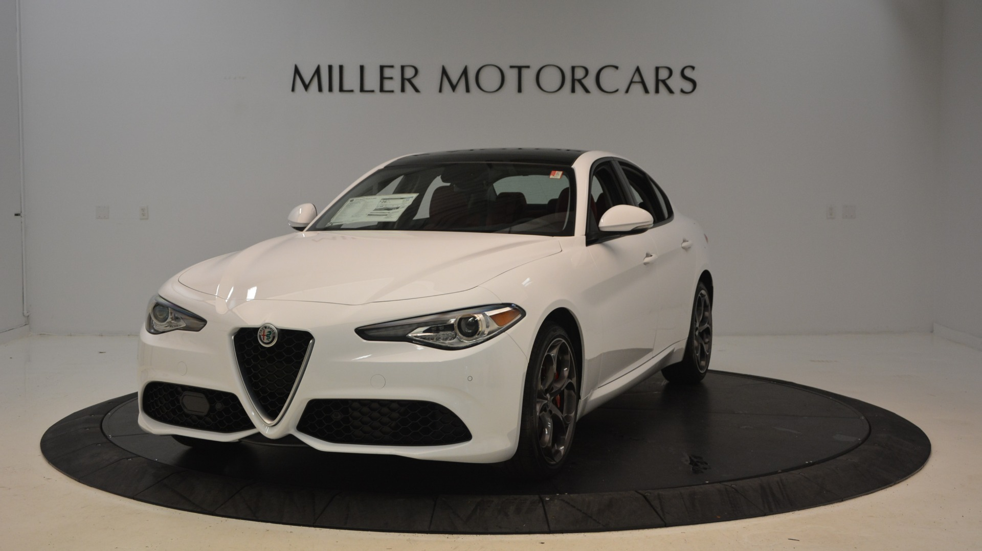 New 2019 Alfa Romeo Giulia Ti Sport Q4 For Sale In Westport, CT 2897_main