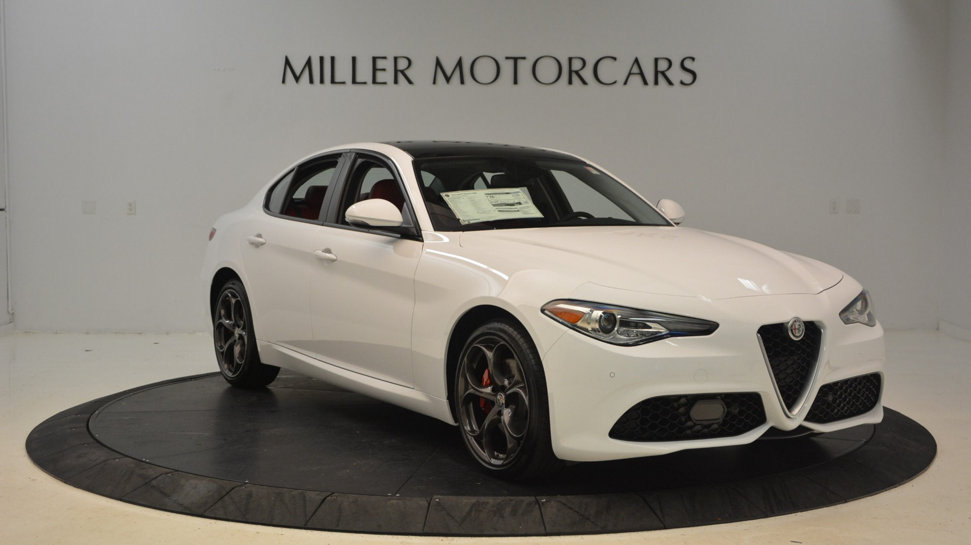 New 2019 Alfa Romeo Giulia Ti Sport Q4 For Sale In Westport, CT 2897_p11