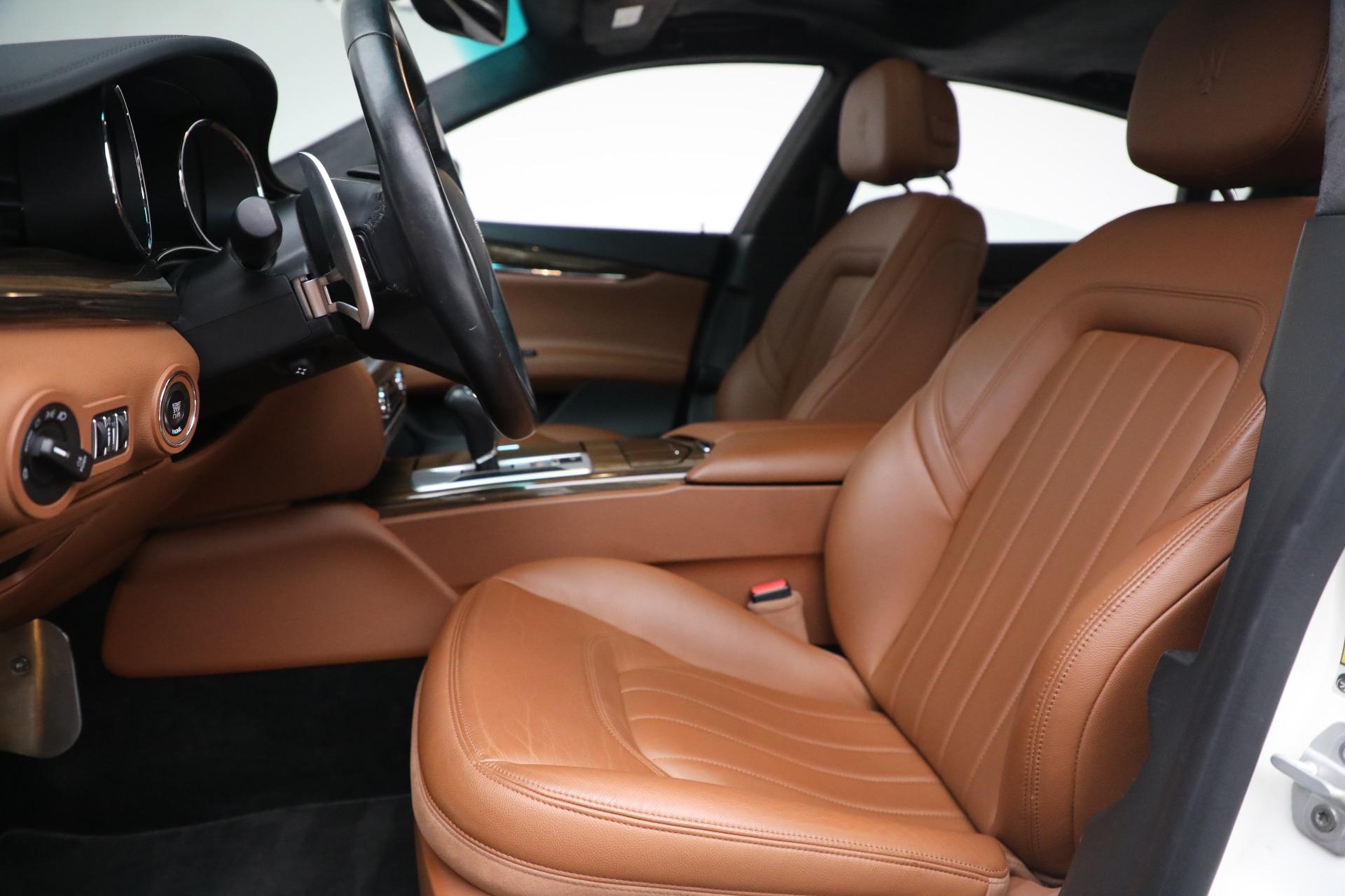 Used 2015 Maserati Quattroporte S Q4 For Sale In Westport, CT 2915_p12