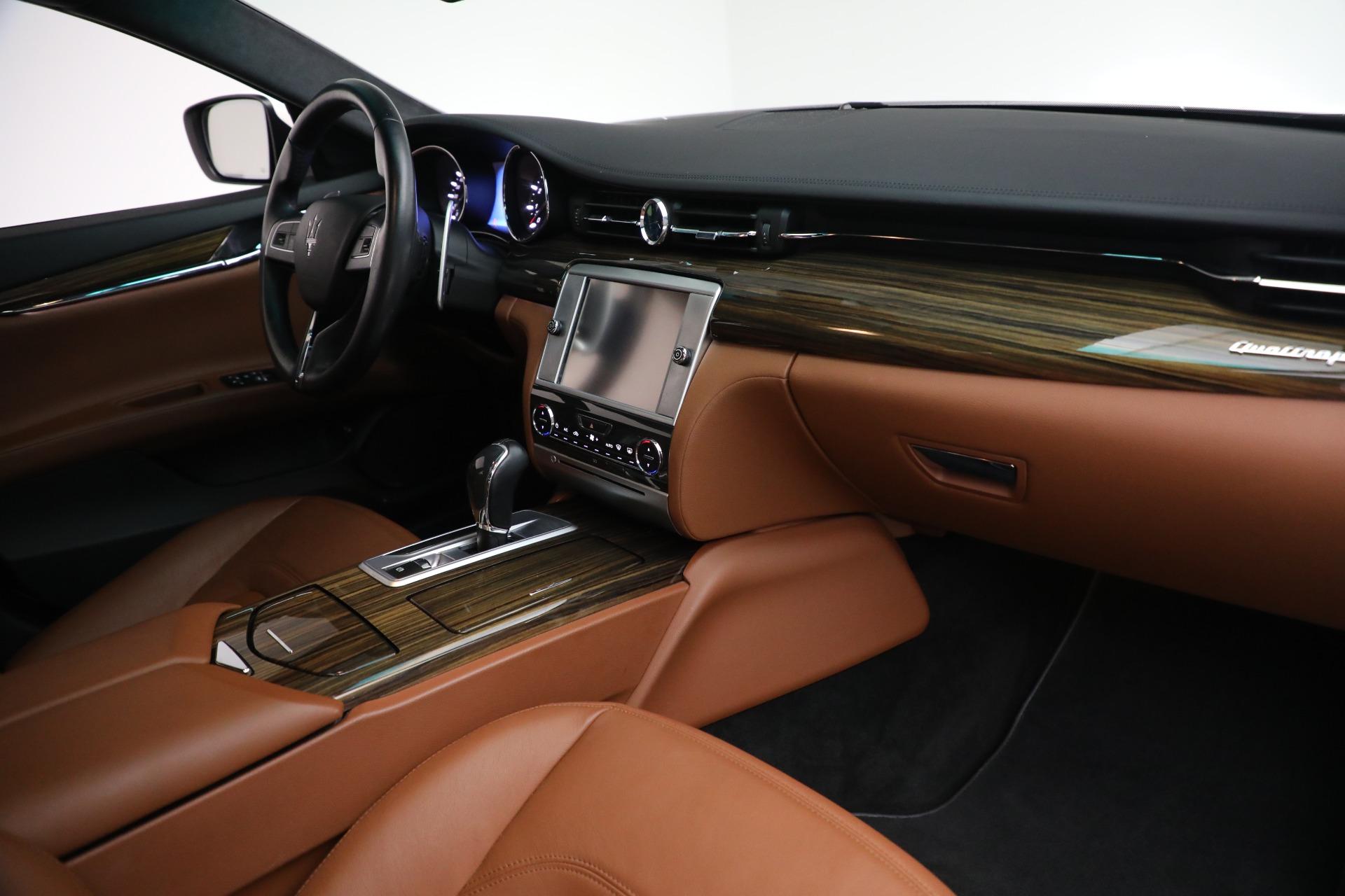 Used 2015 Maserati Quattroporte S Q4 For Sale In Westport, CT 2915_p19