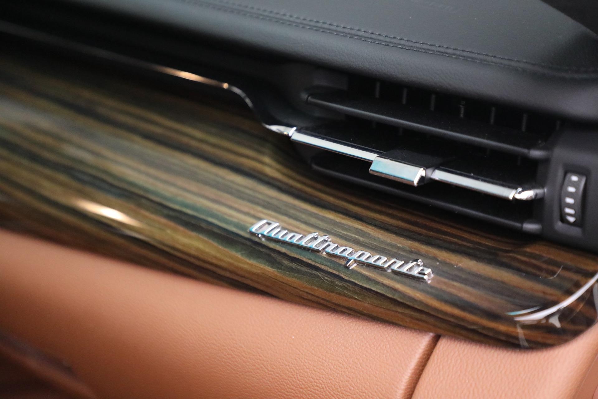 Used 2015 Maserati Quattroporte S Q4 For Sale In Westport, CT 2915_p22