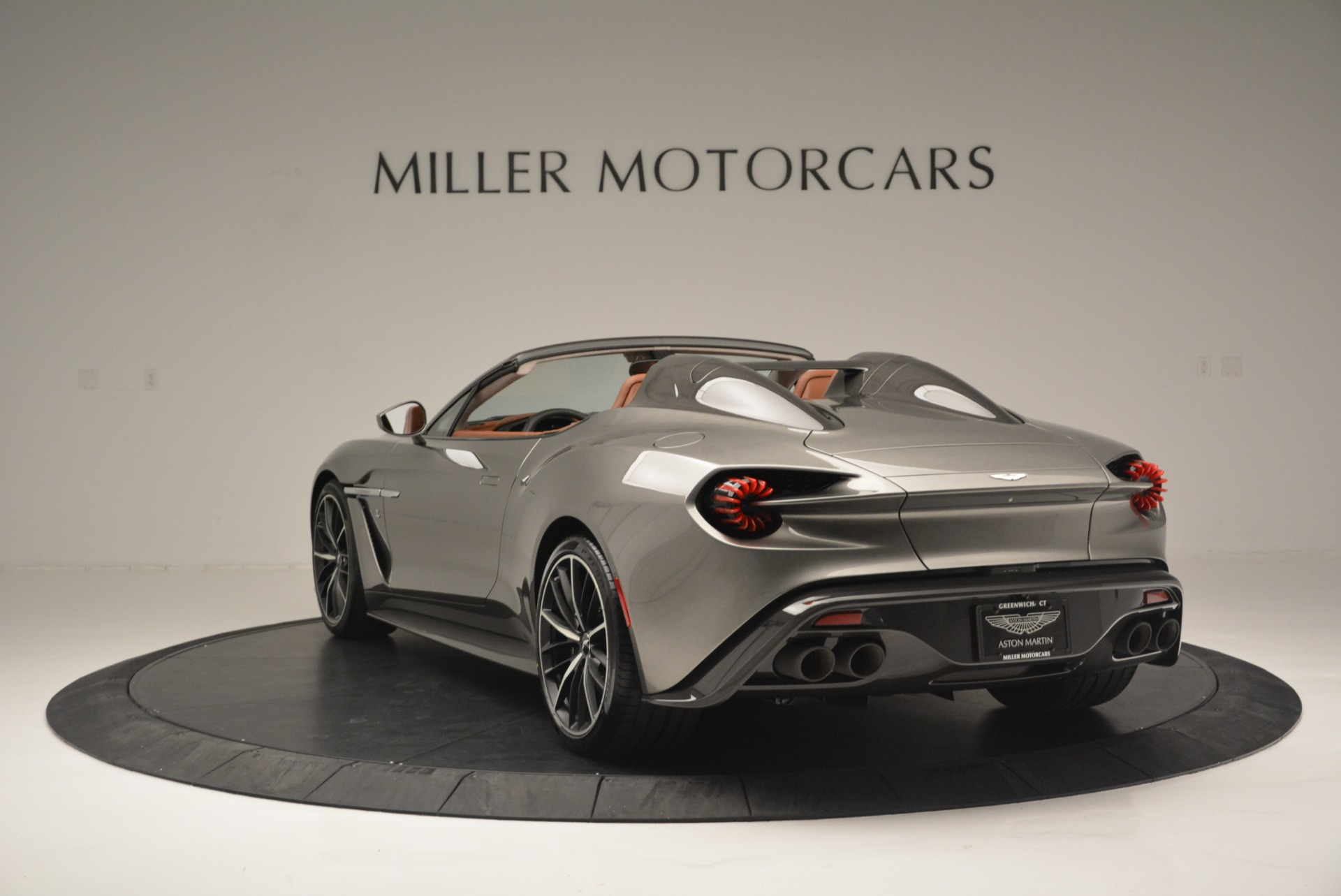 Used 2018 Aston Martin Zagato Speedster Convertible For Sale In Westport, CT 2916_p5