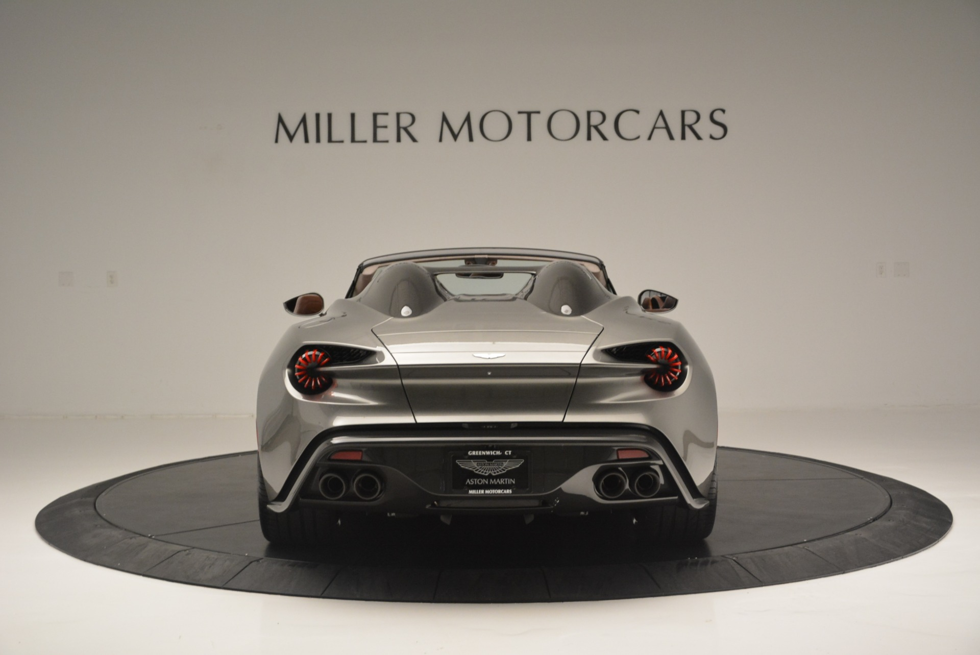 Used 2018 Aston Martin Zagato Speedster Convertible For Sale In Westport, CT 2916_p6