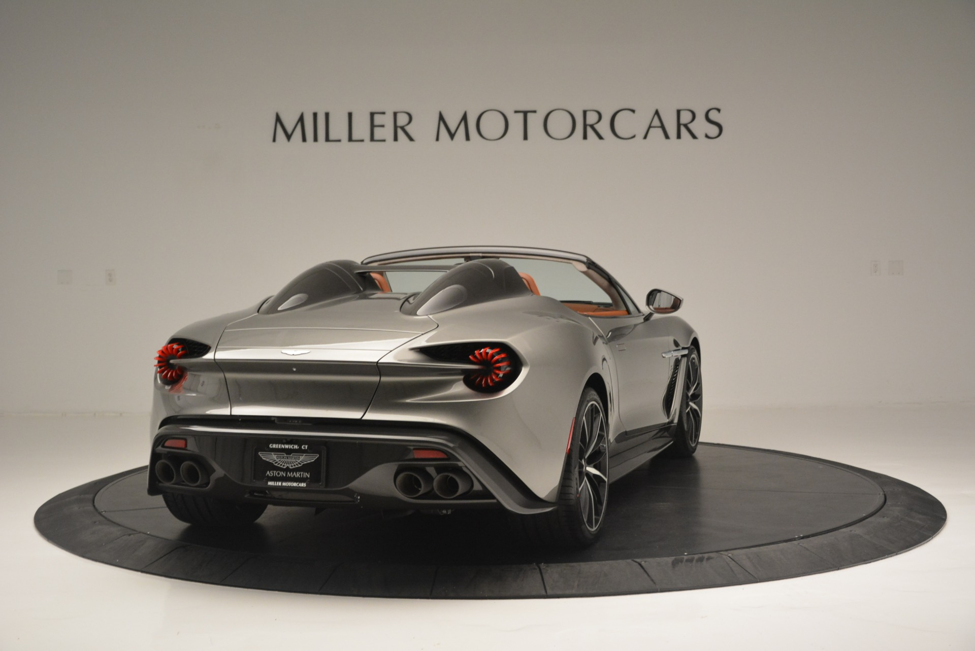 Used 2018 Aston Martin Zagato Speedster Convertible For Sale In Westport, CT 2916_p7