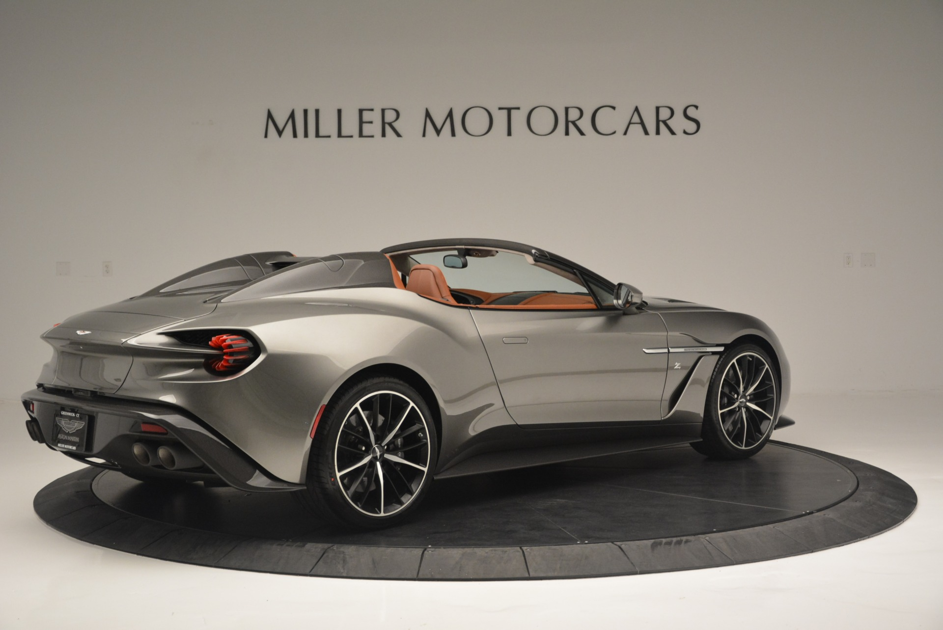 Used 2018 Aston Martin Zagato Speedster Convertible For Sale In Westport, CT 2916_p8