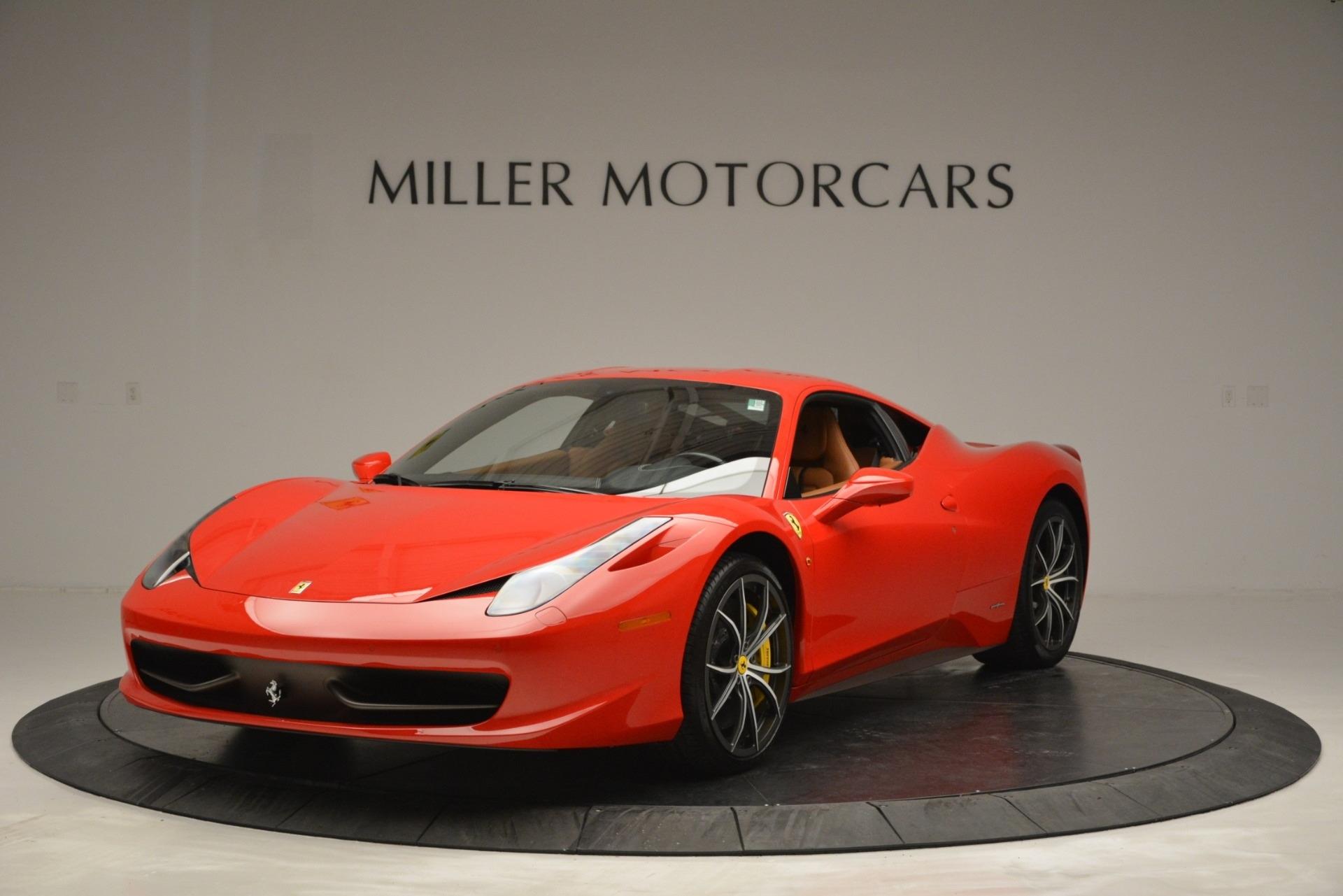 Used 2014 Ferrari 458 Italia  For Sale In Westport, CT 2920_main